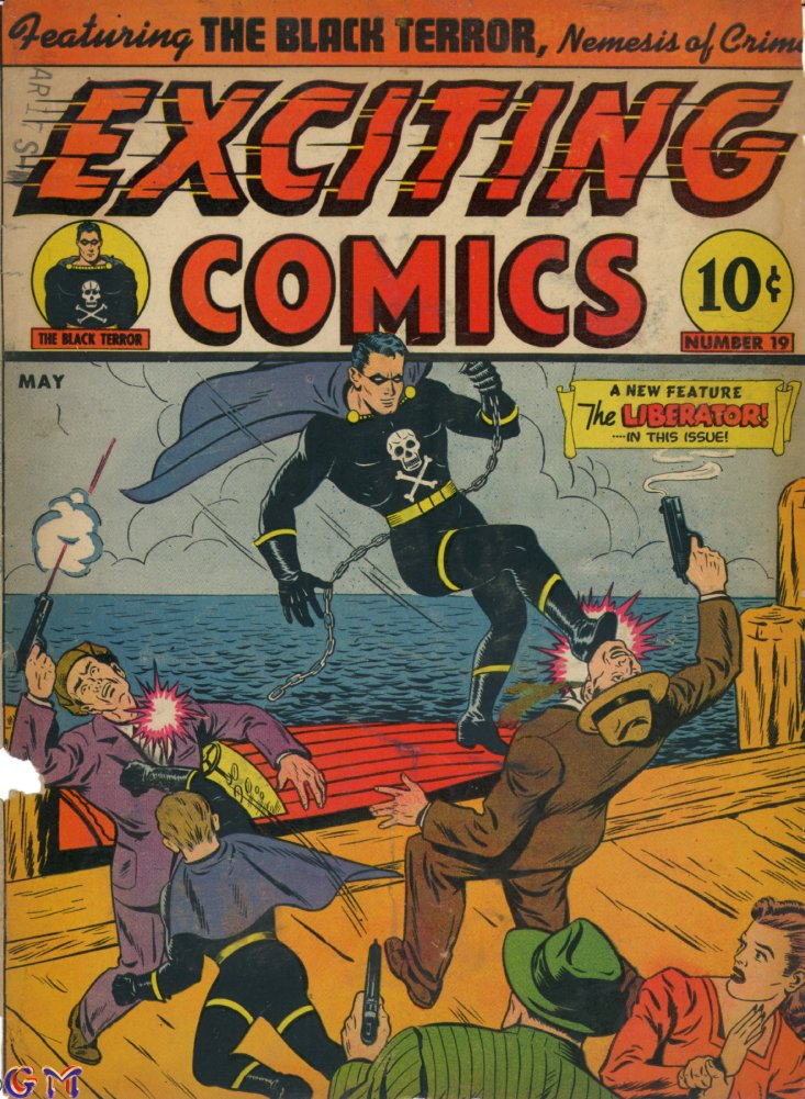 Exciting Comics (1940) 19 Page 1