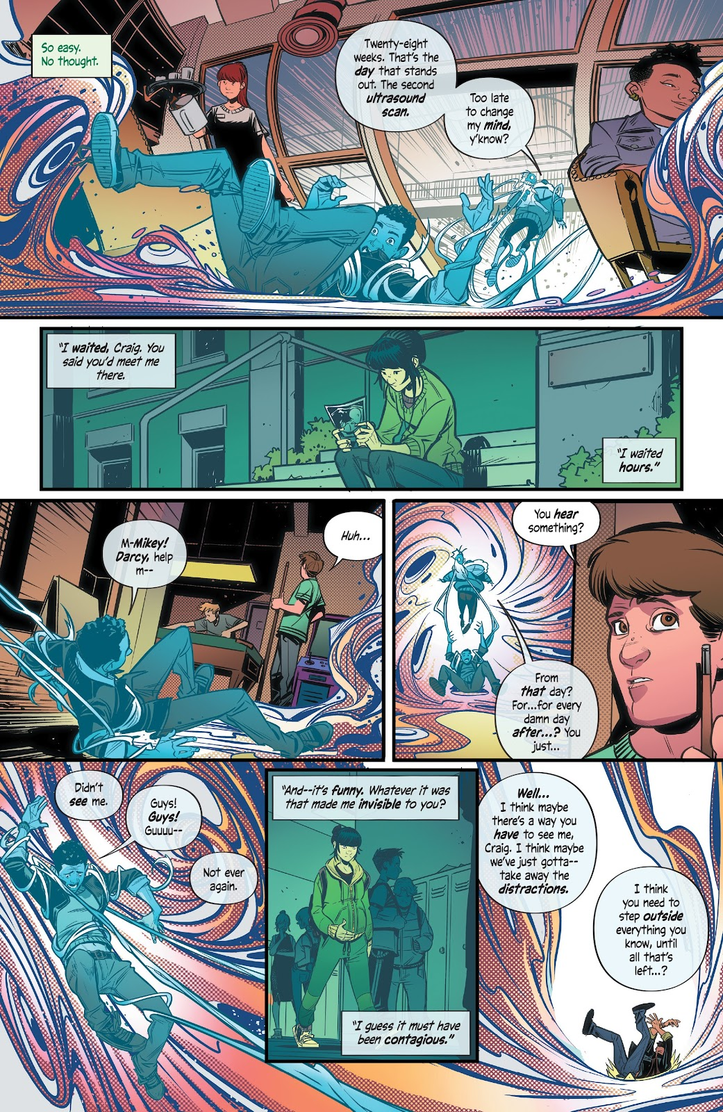 Read online Alienated comic -  Issue #3 - 11