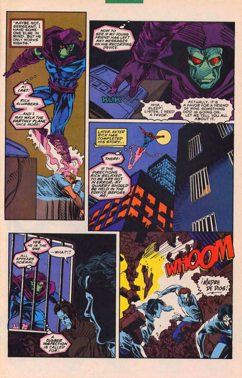 Read online Sleepwalker comic -  Issue #30 - 7