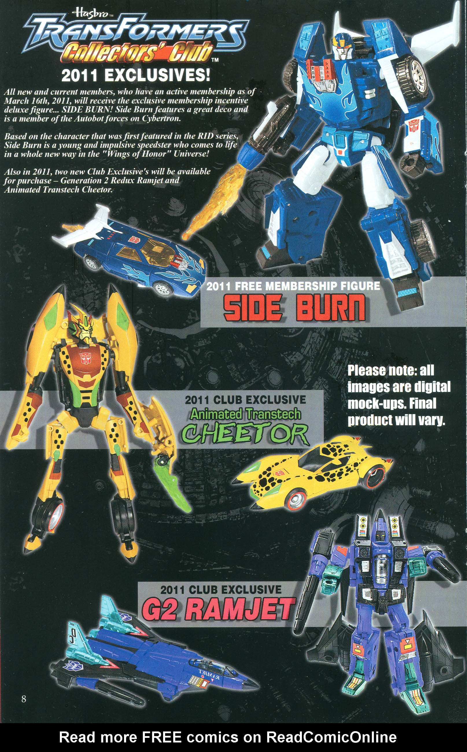Read online Transformers: Collectors' Club comic -  Issue #36 - 8