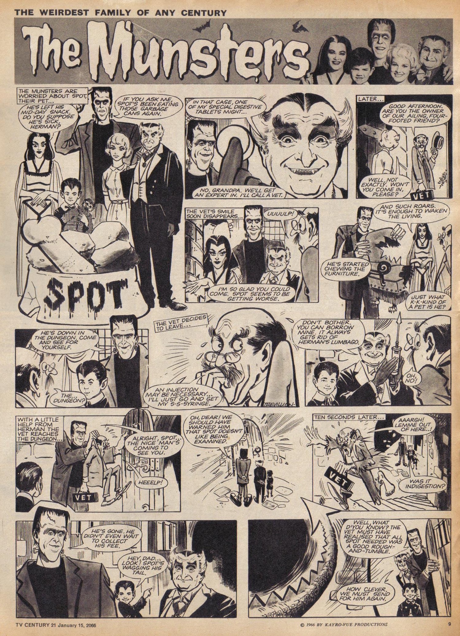 Read online TV Century 21 (TV 21) comic -  Issue #52 - 9
