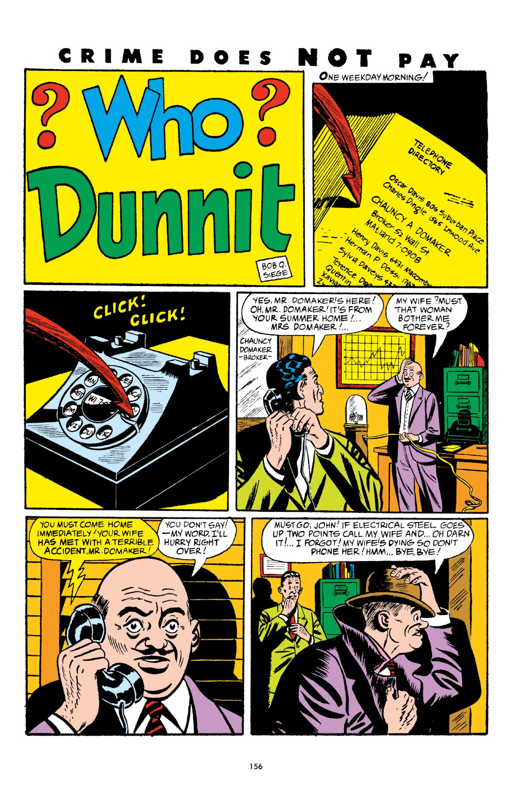 Read online Crime Does Not Pay Archives comic -  Issue # TPB 5 (Part 2) - 56