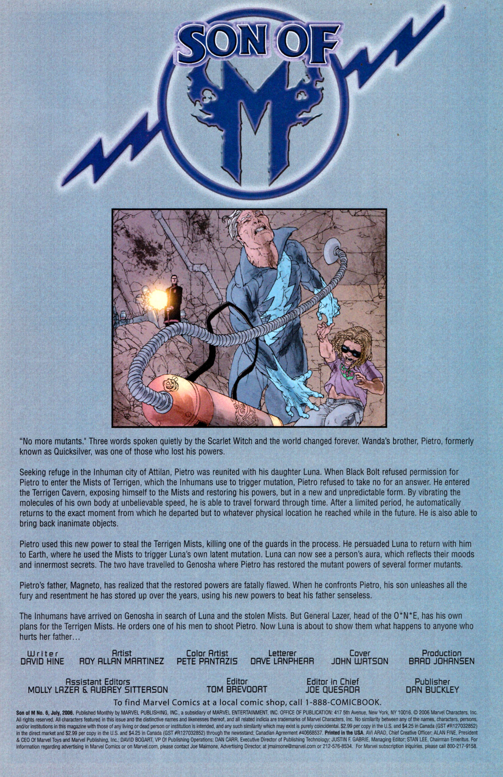 Read online Son of M comic -  Issue #6 - 3