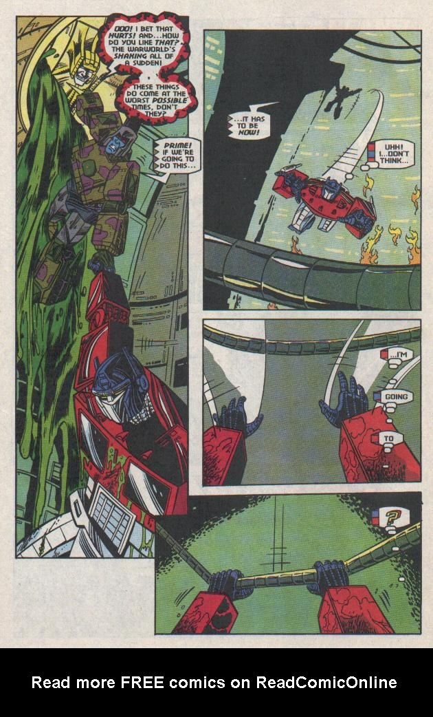 Read online Transformers: Generation 2 comic -  Issue #11 - 11