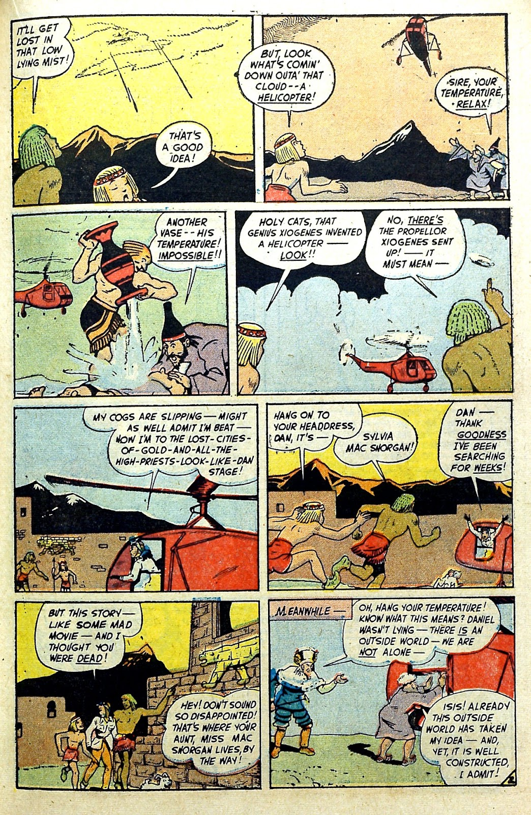 Read online Famous Funnies comic -  Issue #187 - 19