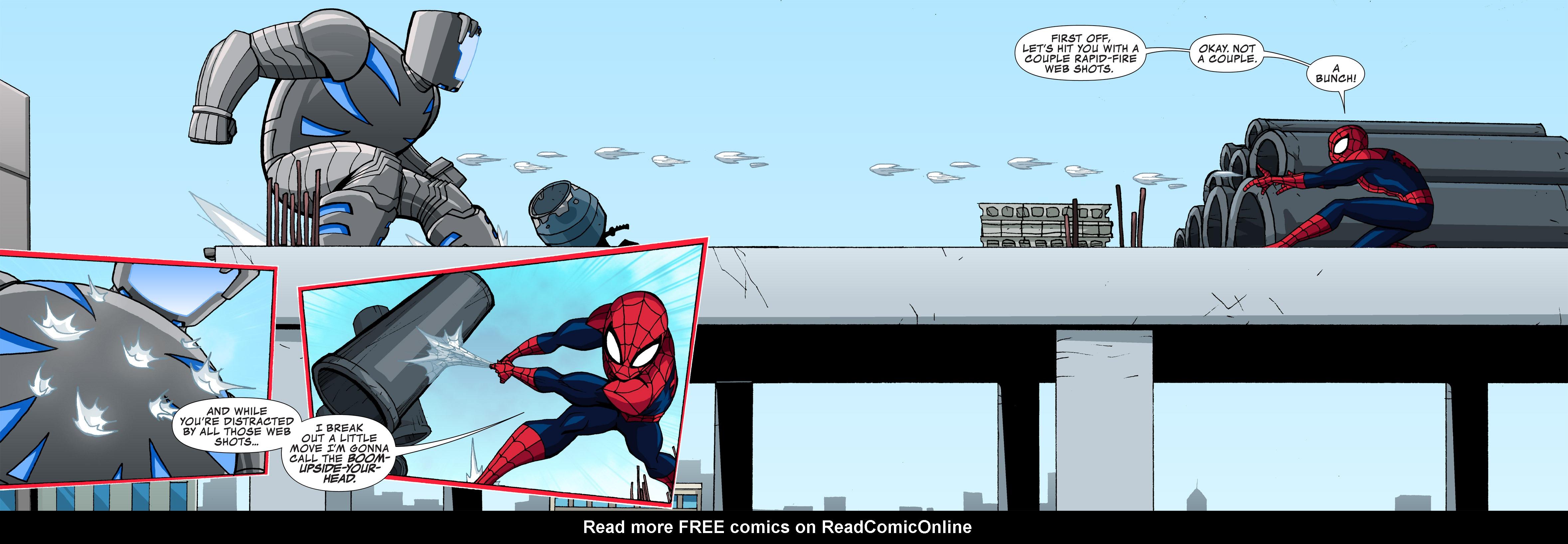 Read online Ultimate Spider-Man (Infinite Comics) (2015) comic -  Issue #3 - 36
