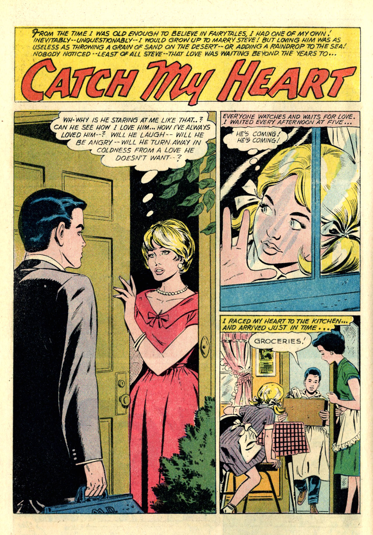 Read online Secret Hearts comic -  Issue #127 - 12