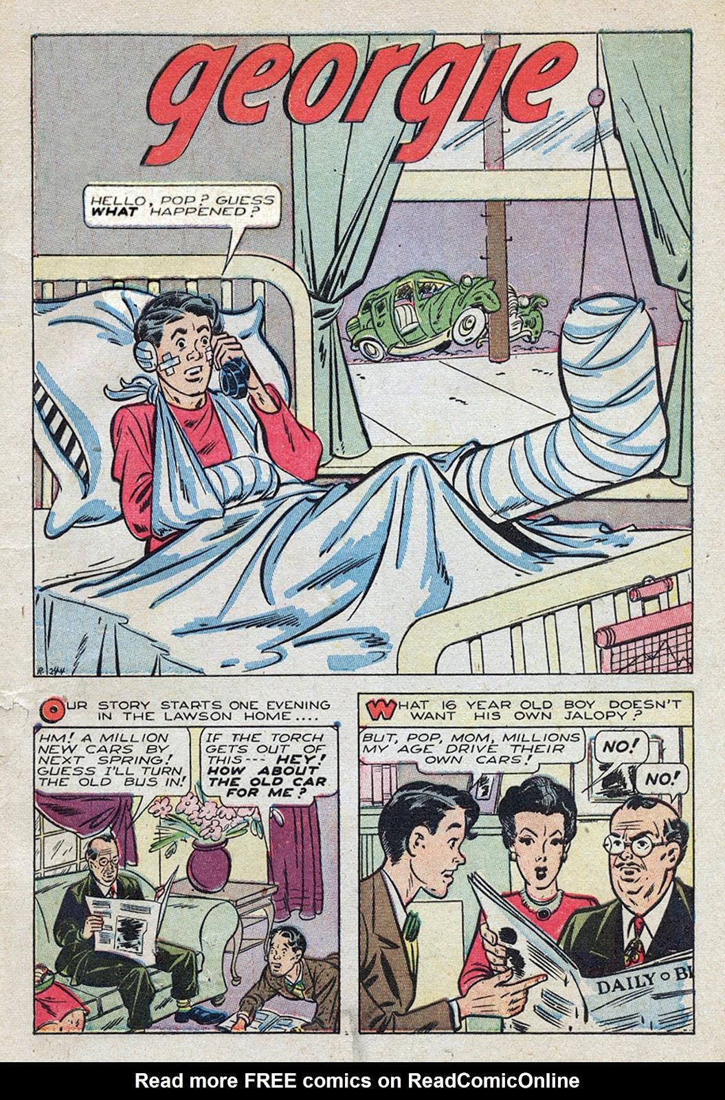 Georgie Comics (1945) issue 4 - Page 3