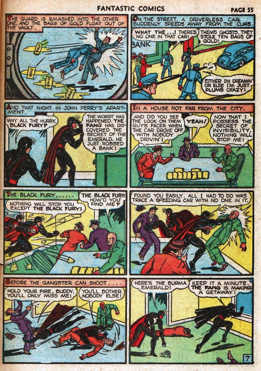Read online Fantastic Comics comic -  Issue #18 - 57