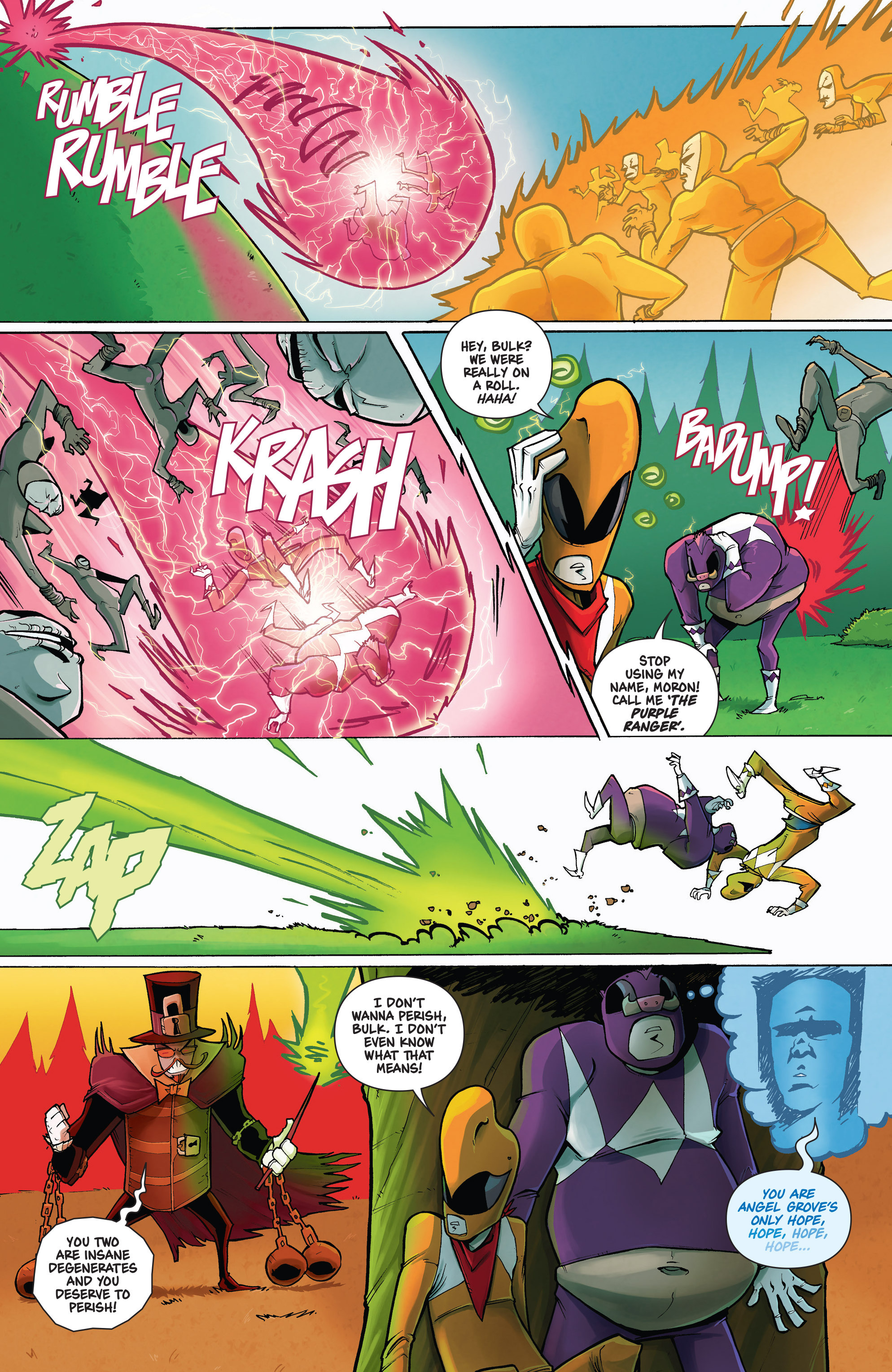 Read online Mighty Morphin Power Rangers comic -  Issue # _Annual 1 - 14