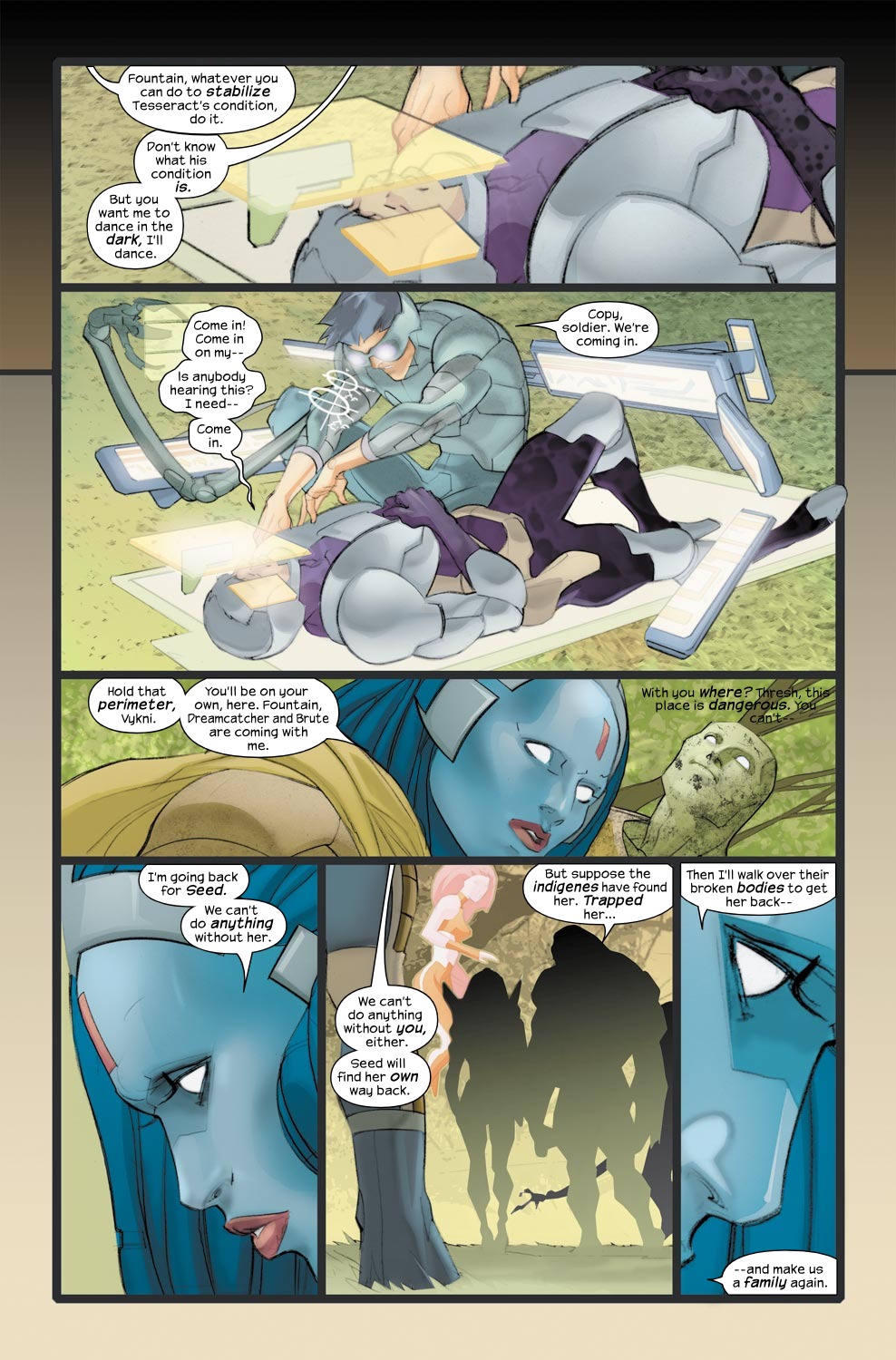 Read online Ultimate Fantastic Four (2004) comic -  Issue #33 - 15