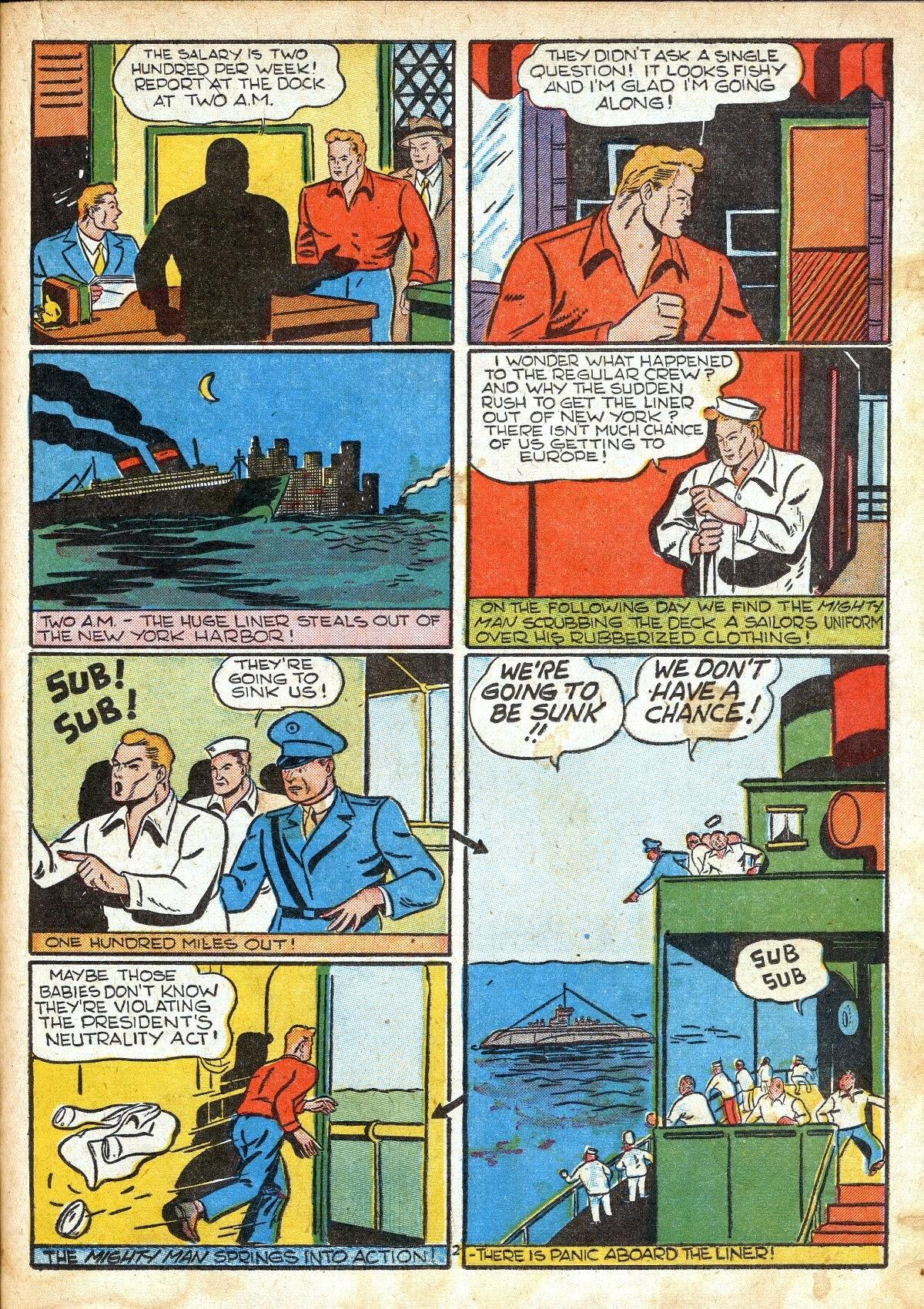 Read online Amazing Man Comics comic -  Issue #16 - 37