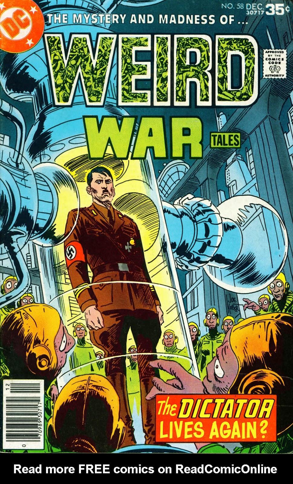 Weird War Tales (1971) issue 58 - Page 1