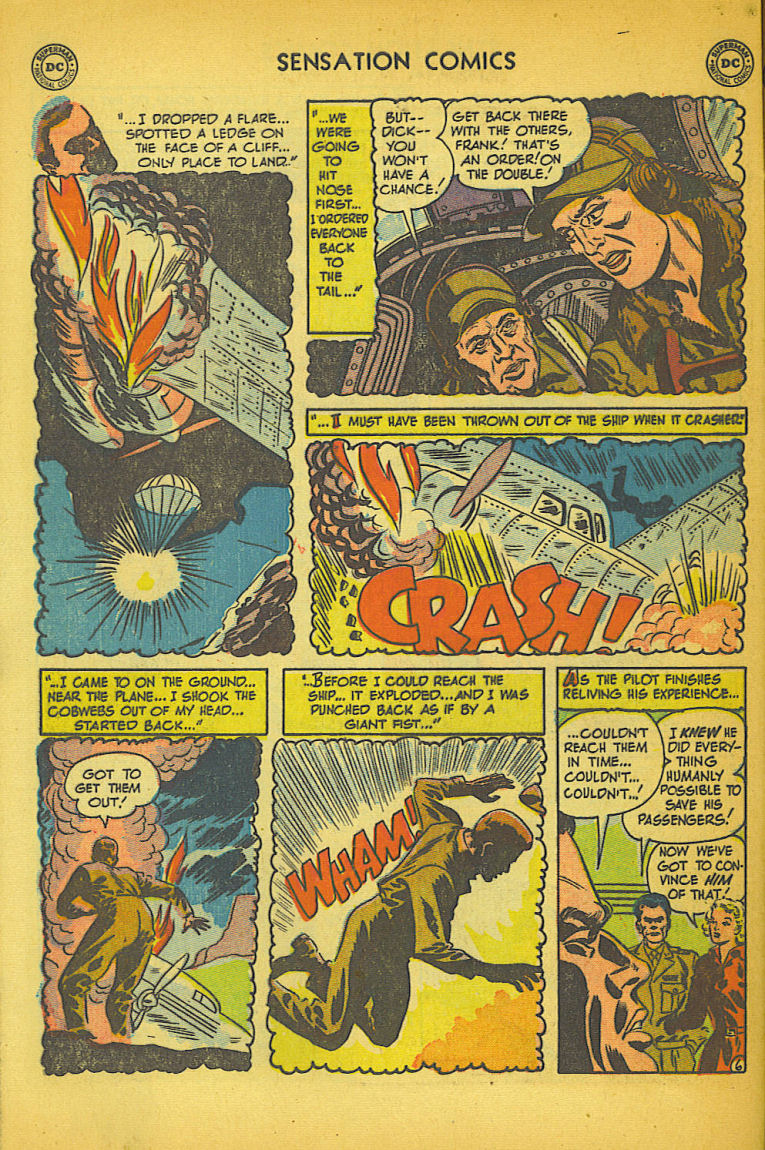Read online Sensation (Mystery) Comics comic -  Issue #104 - 46