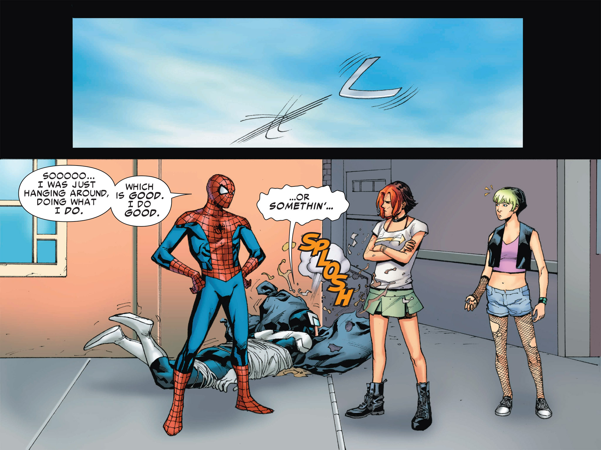 Read online Ultimate Spider-Man (Infinite Comics) (2016) comic -  Issue #2 - 29