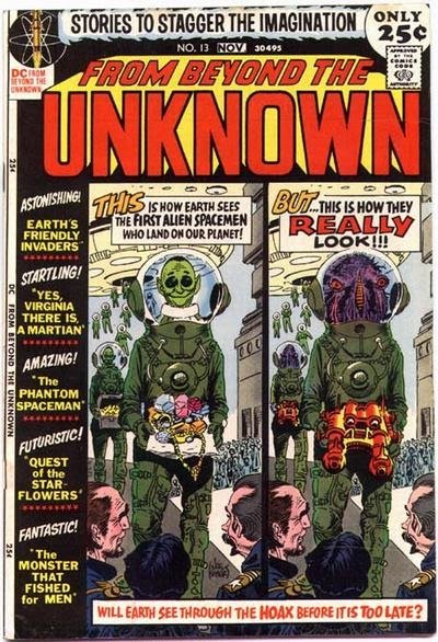 From Beyond the Unknown (1969) issue 13 - Page 1