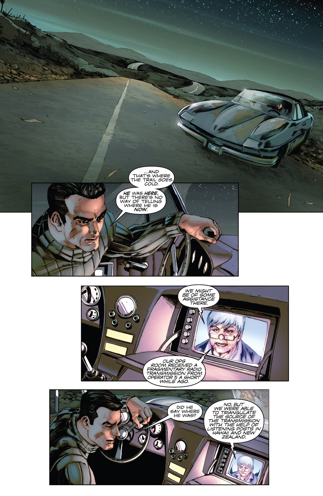 Read online Codename: Action comic -  Issue #3 - 7