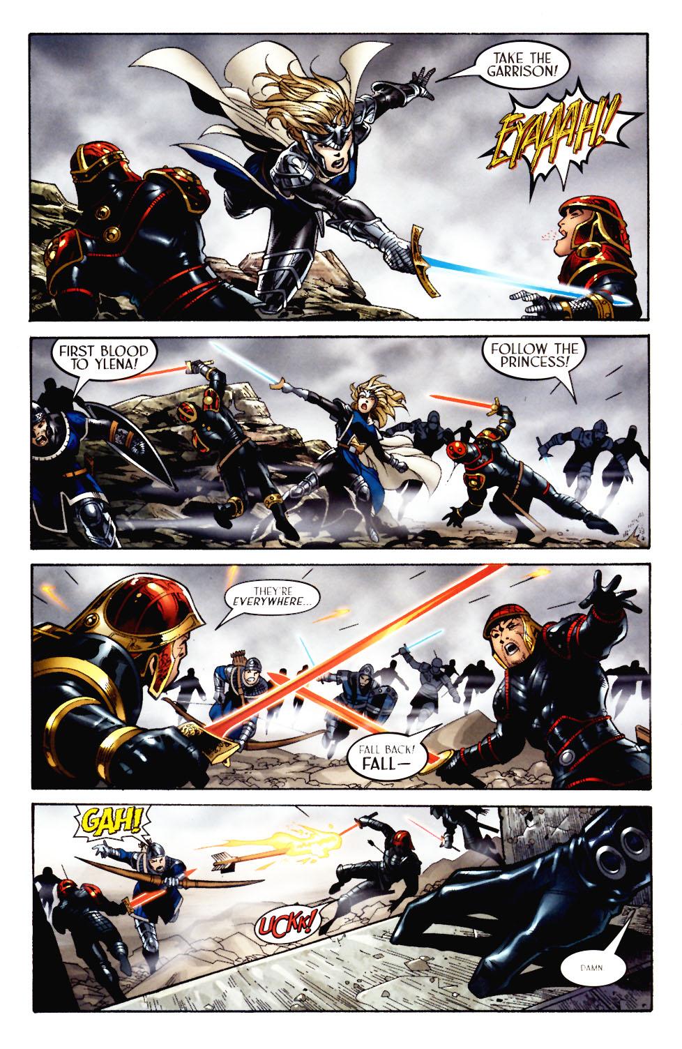Read online Scion comic -  Issue #11 - 5