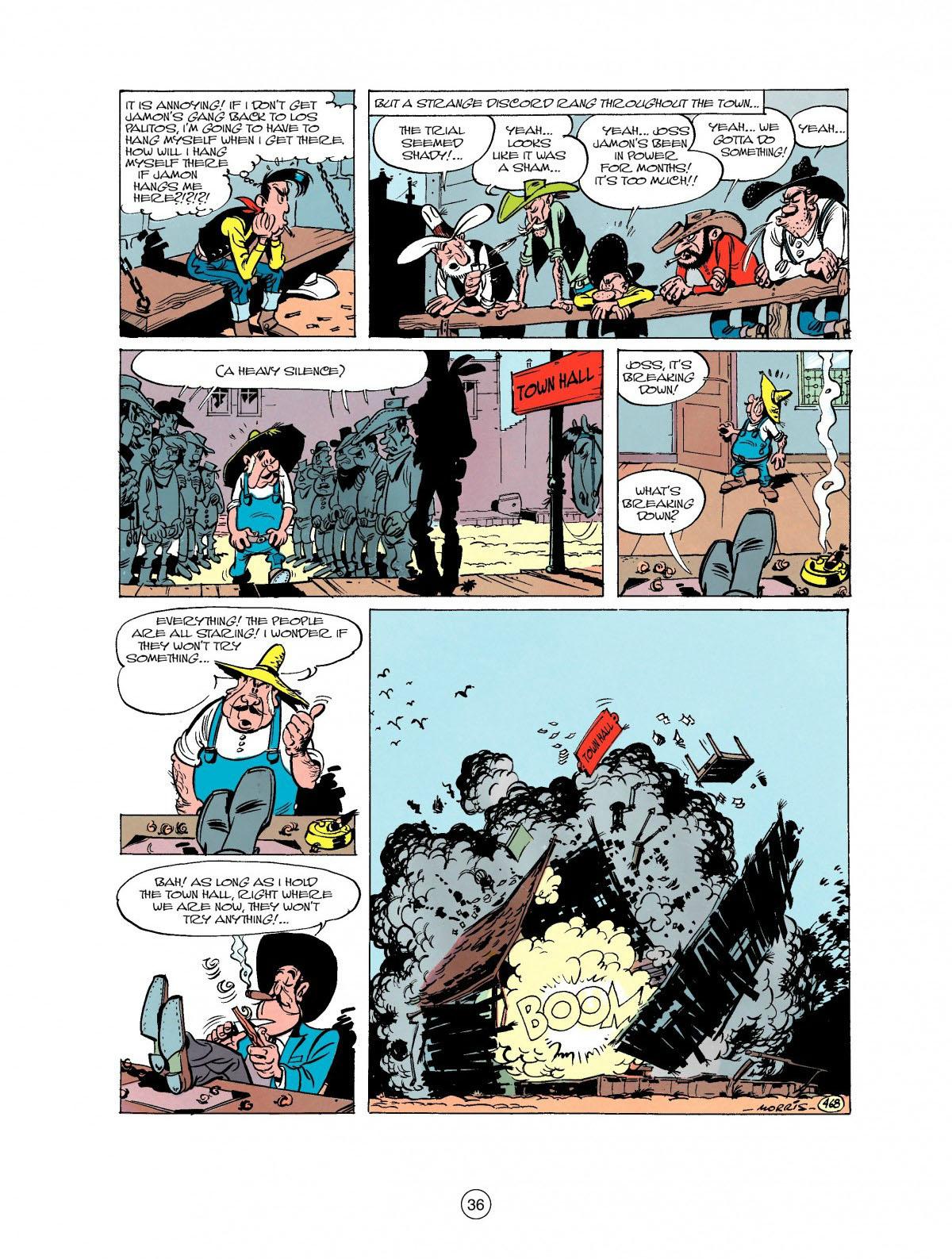 Read online A Lucky Luke Adventure comic -  Issue #27 - 37