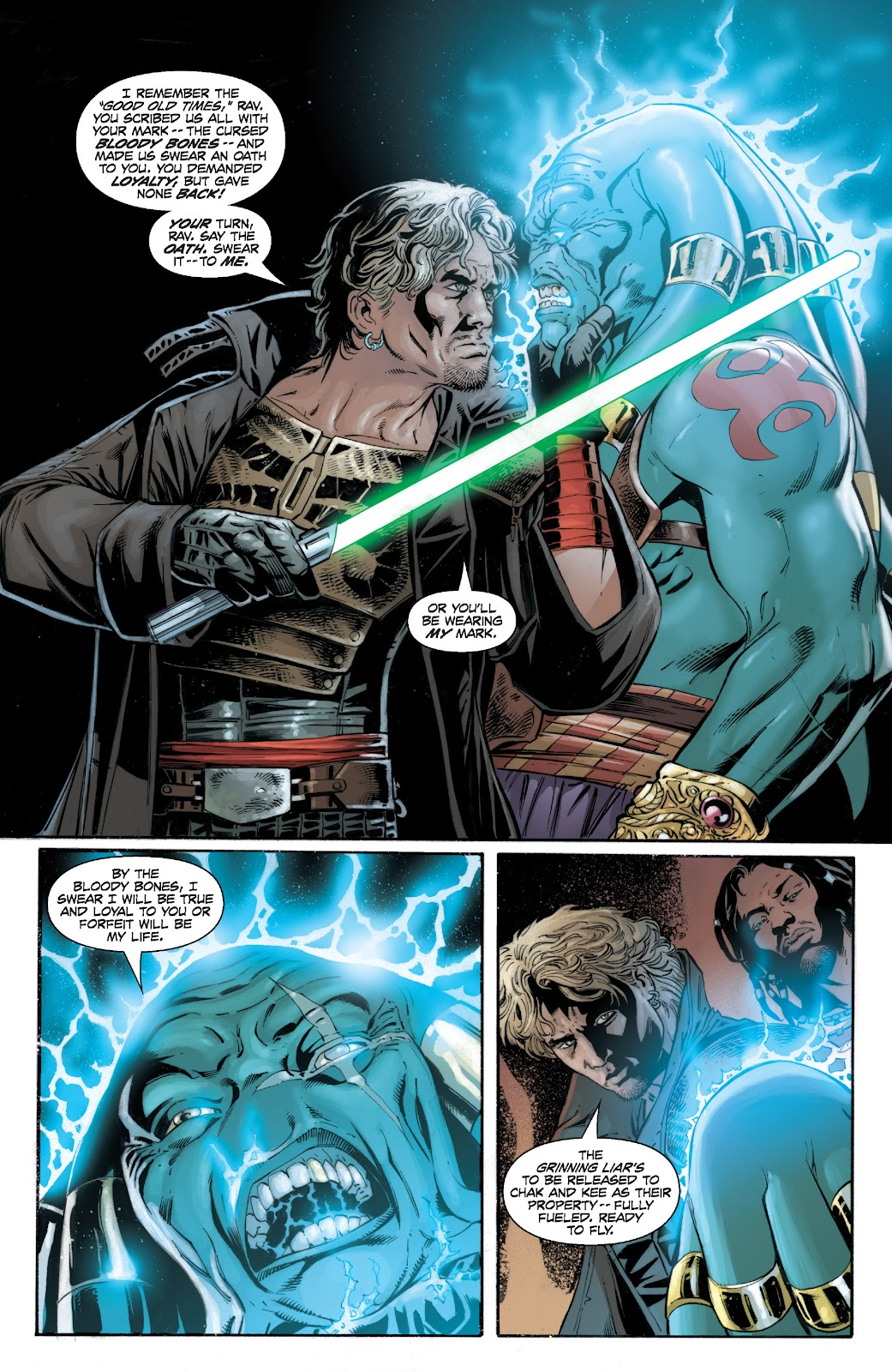 Read online Star Wars Legends: Legacy - Epic Collection comic -  Issue # TPB 2 (Part 2) - 8