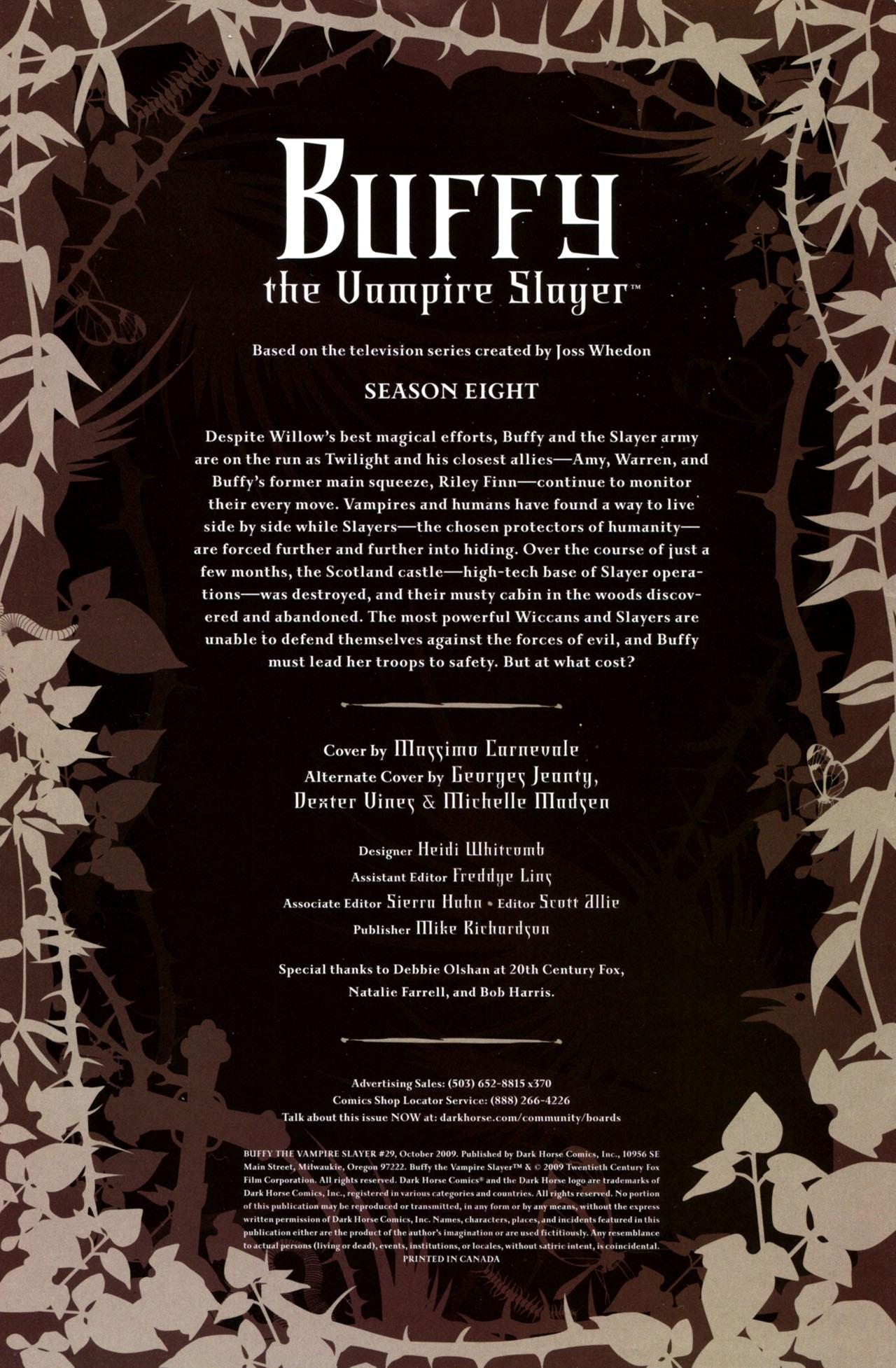 Buffy the Vampire Slayer Season Eight 29 Page 2