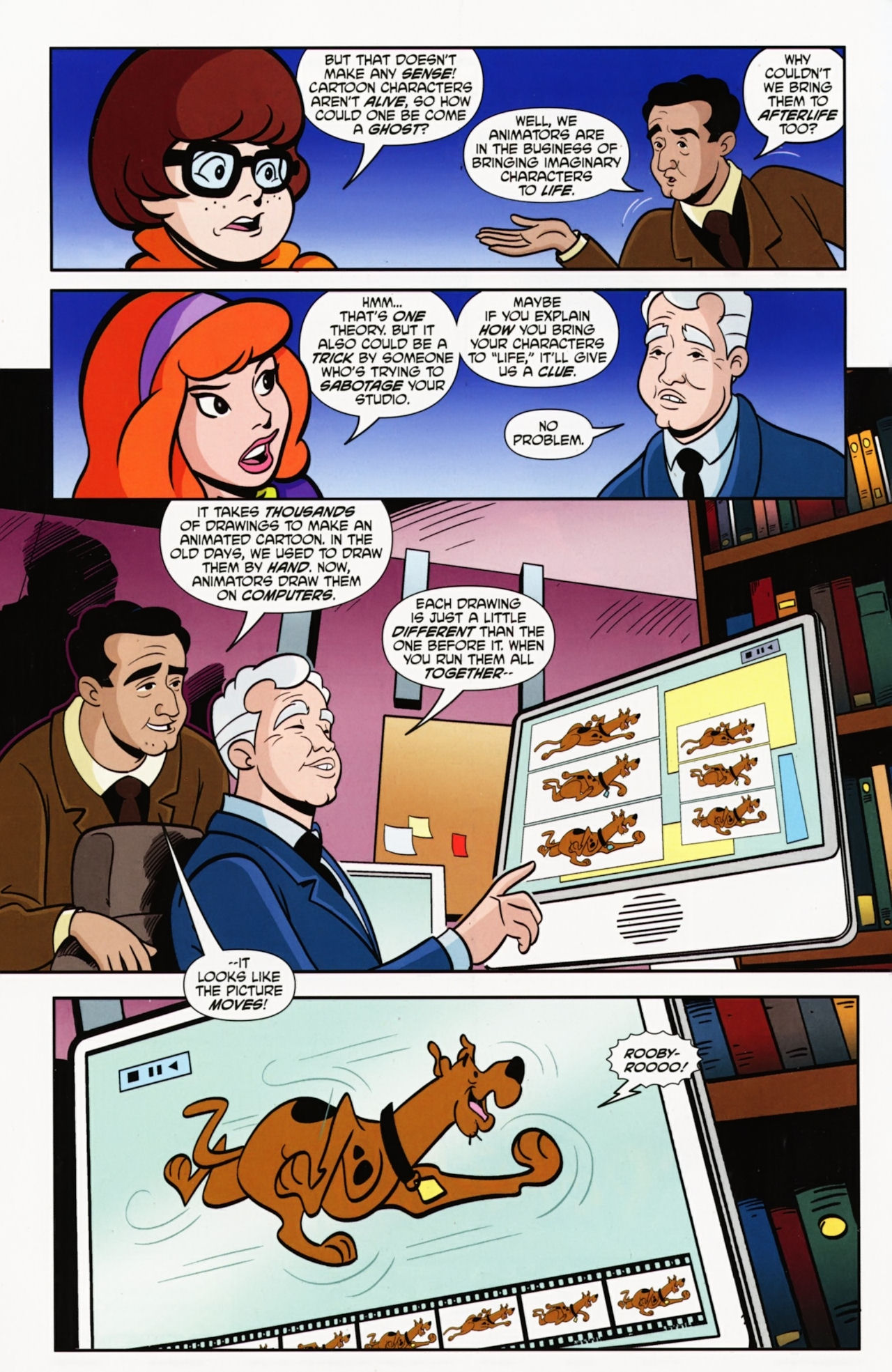 Read online Scooby-Doo: Where Are You? comic -  Issue #9 - 9