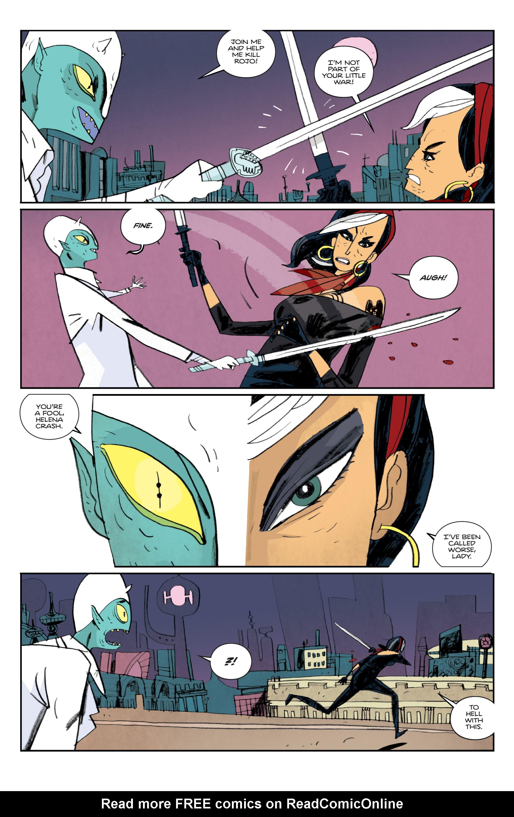 Read online Helena Crash comic -  Issue #3 - 10