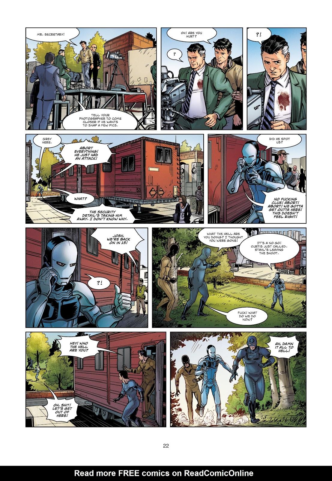 Read online Vigilantes comic -  Issue #4 - 22