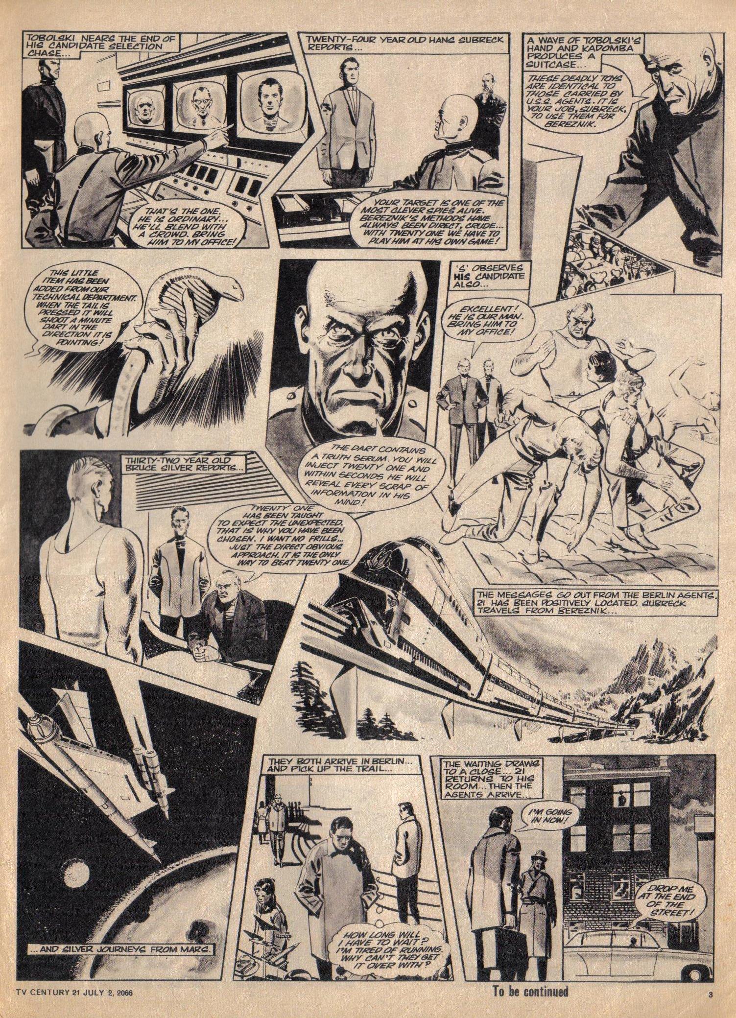 Read online TV Century 21 (TV 21) comic -  Issue #76 - 3