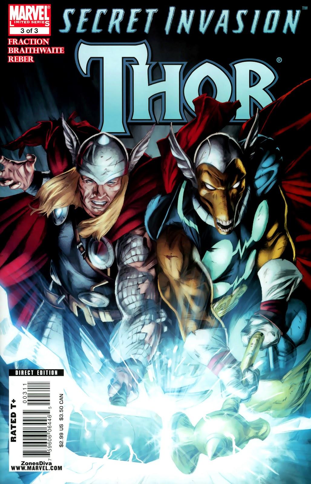 Secret Invasion: Thor Issue #3 #3 - English 1