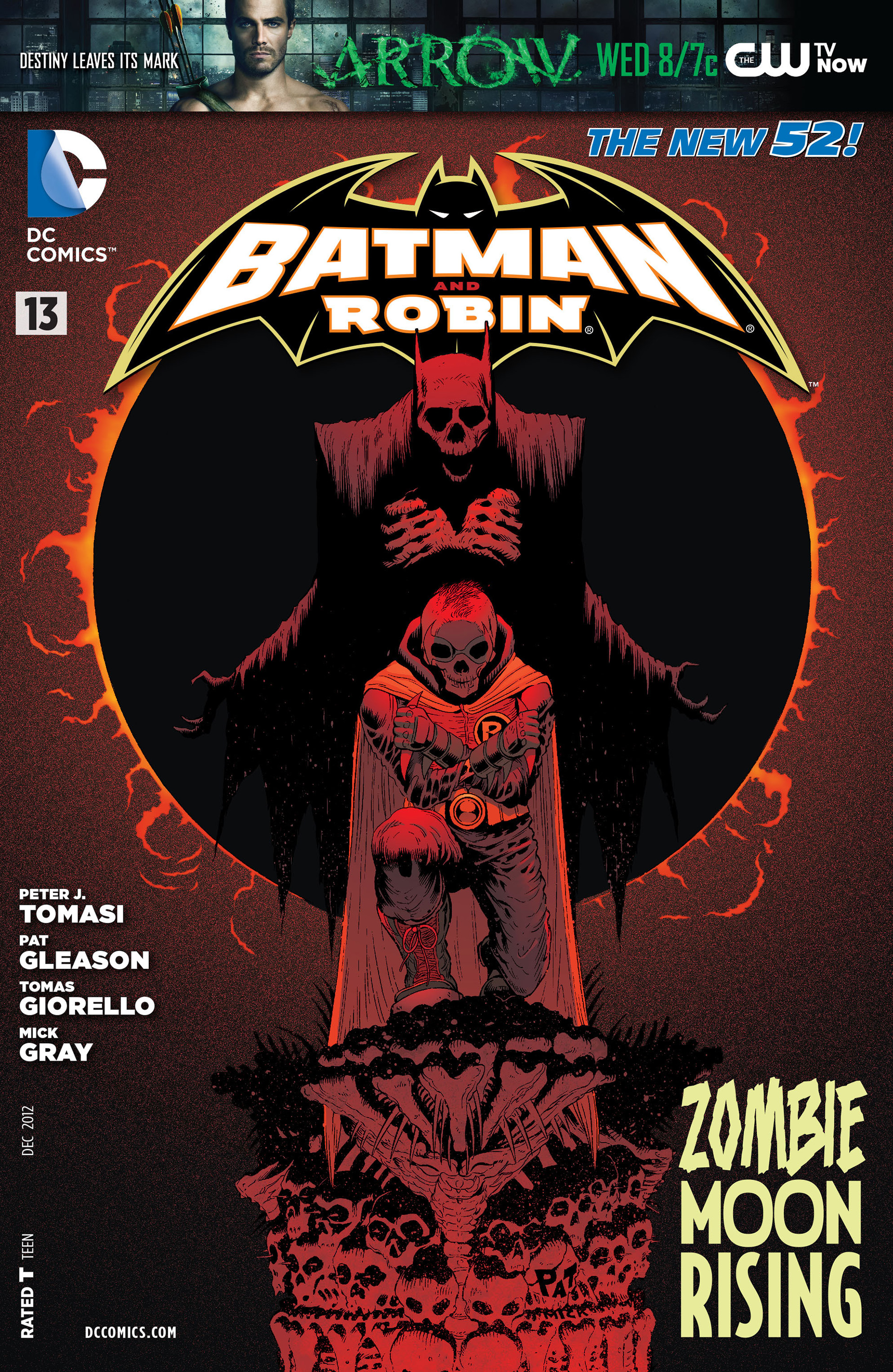 Read online Batman and Robin (2011) comic -  Issue #13 - 1