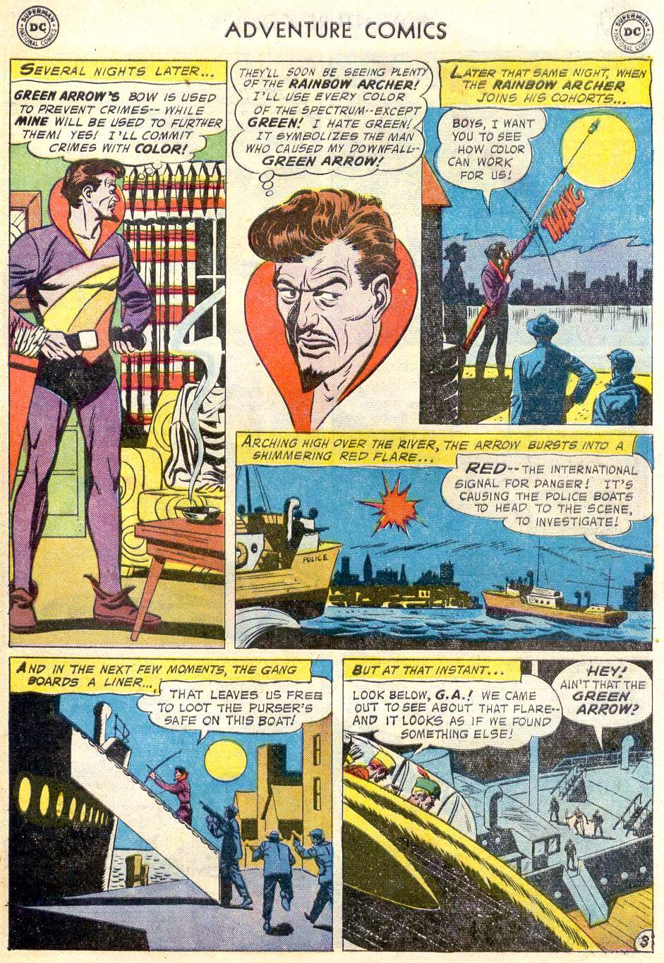 Read online Adventure Comics (1938) comic -  Issue #246 - 29