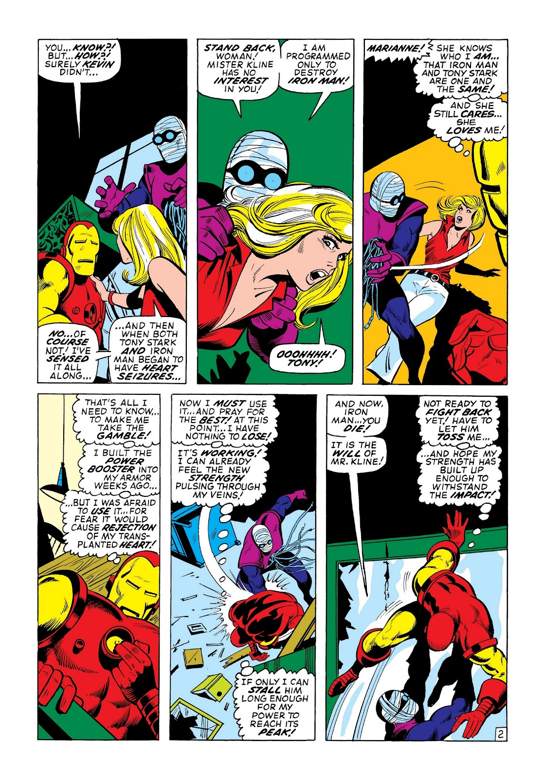 Read online Marvel Masterworks: The Invincible Iron Man comic -  Issue # TPB 8 (Part 2) - 24