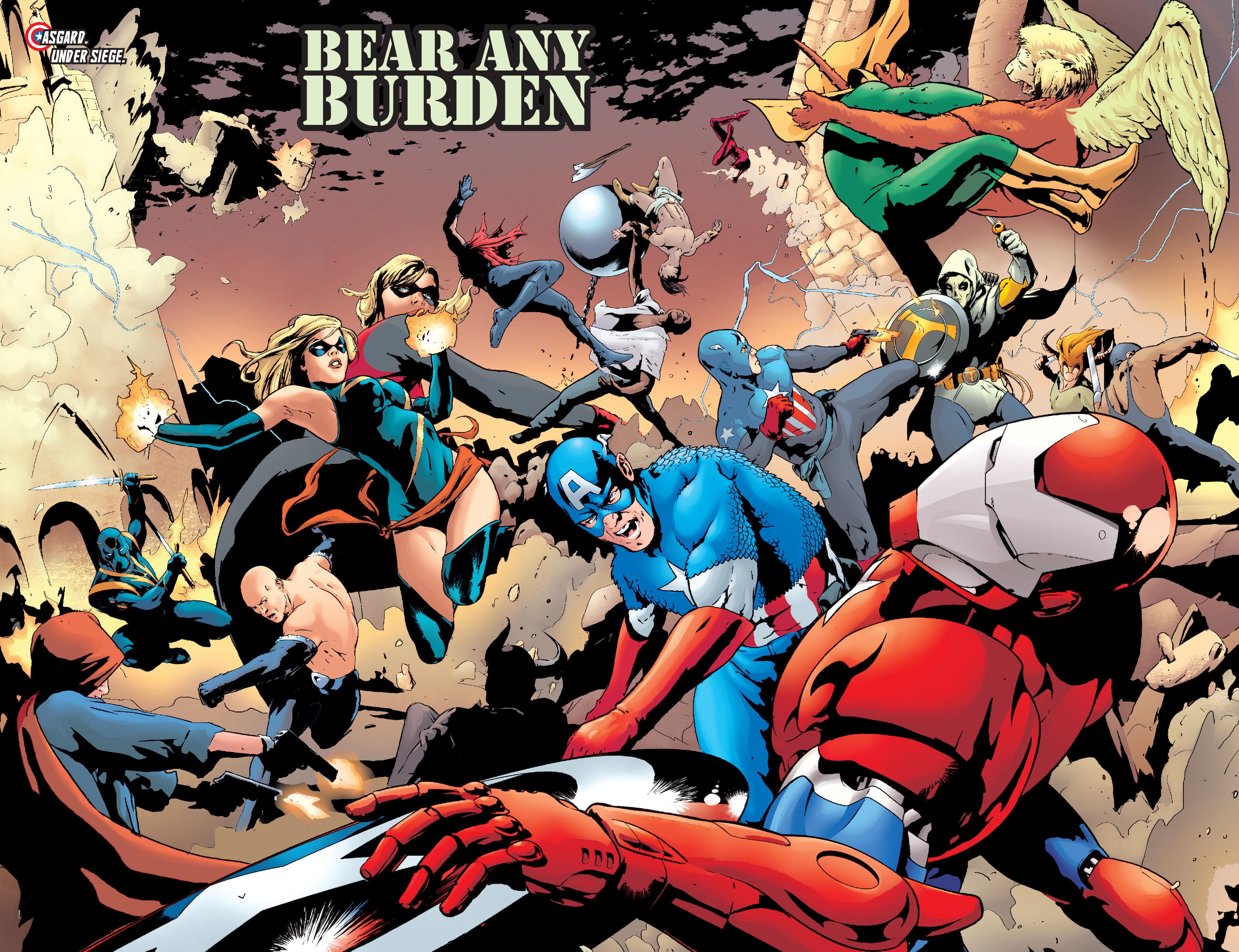 Read online Siege: Captain America comic -  Issue # Full - 5
