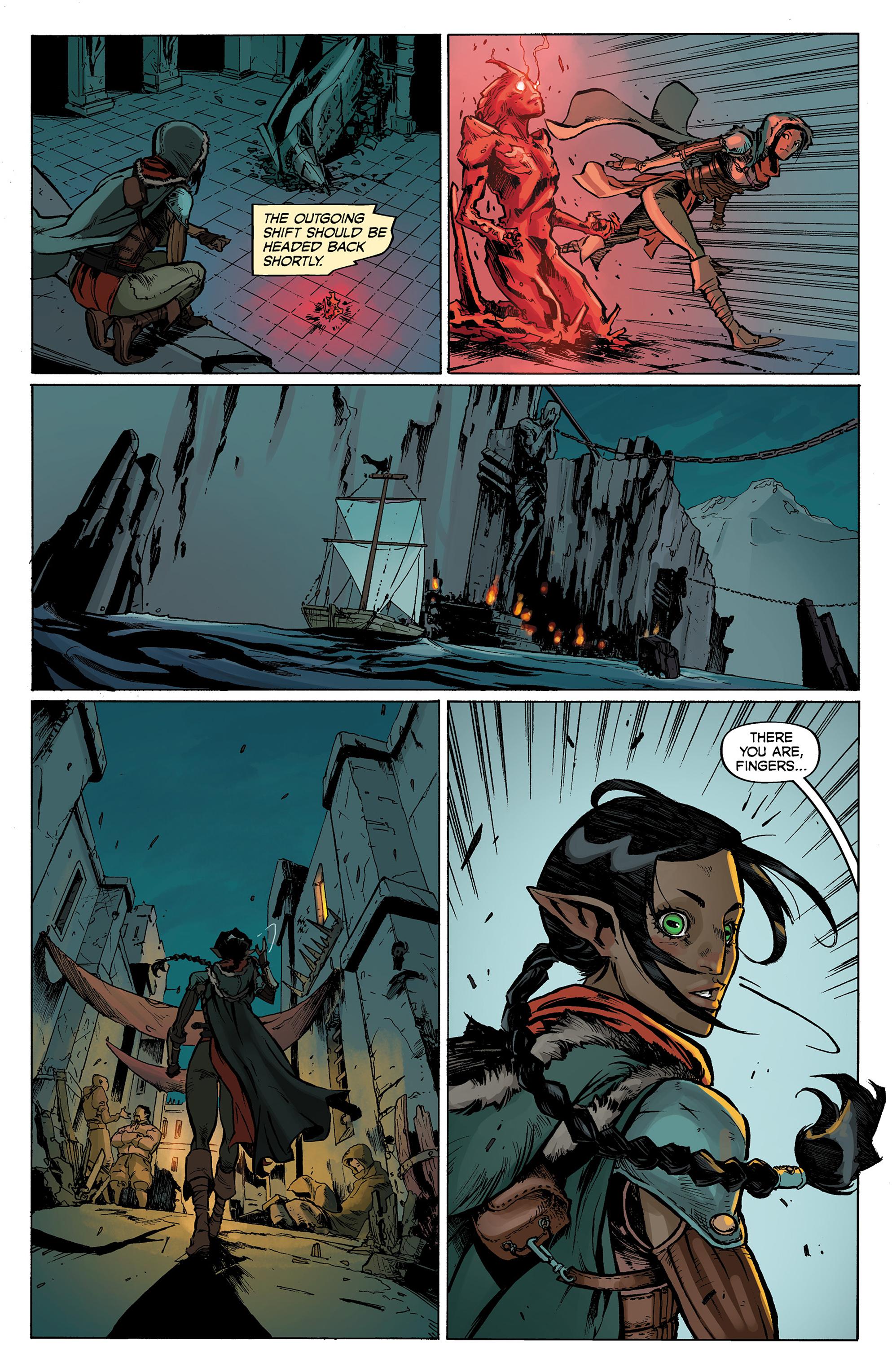 Read online Dragon Age: Knight Errant comic -  Issue #1 - 16