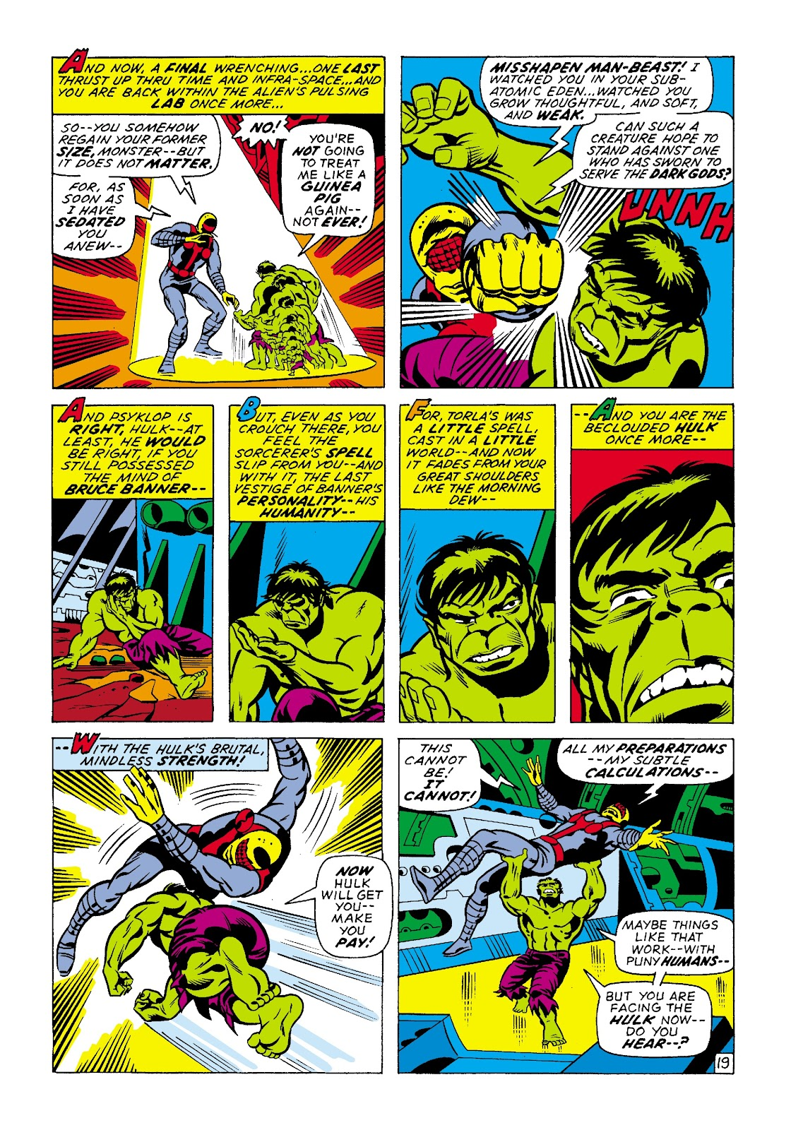 Read online Marvel Masterworks: The Incredible Hulk comic -  Issue # TPB 7 (Part 2) - 45