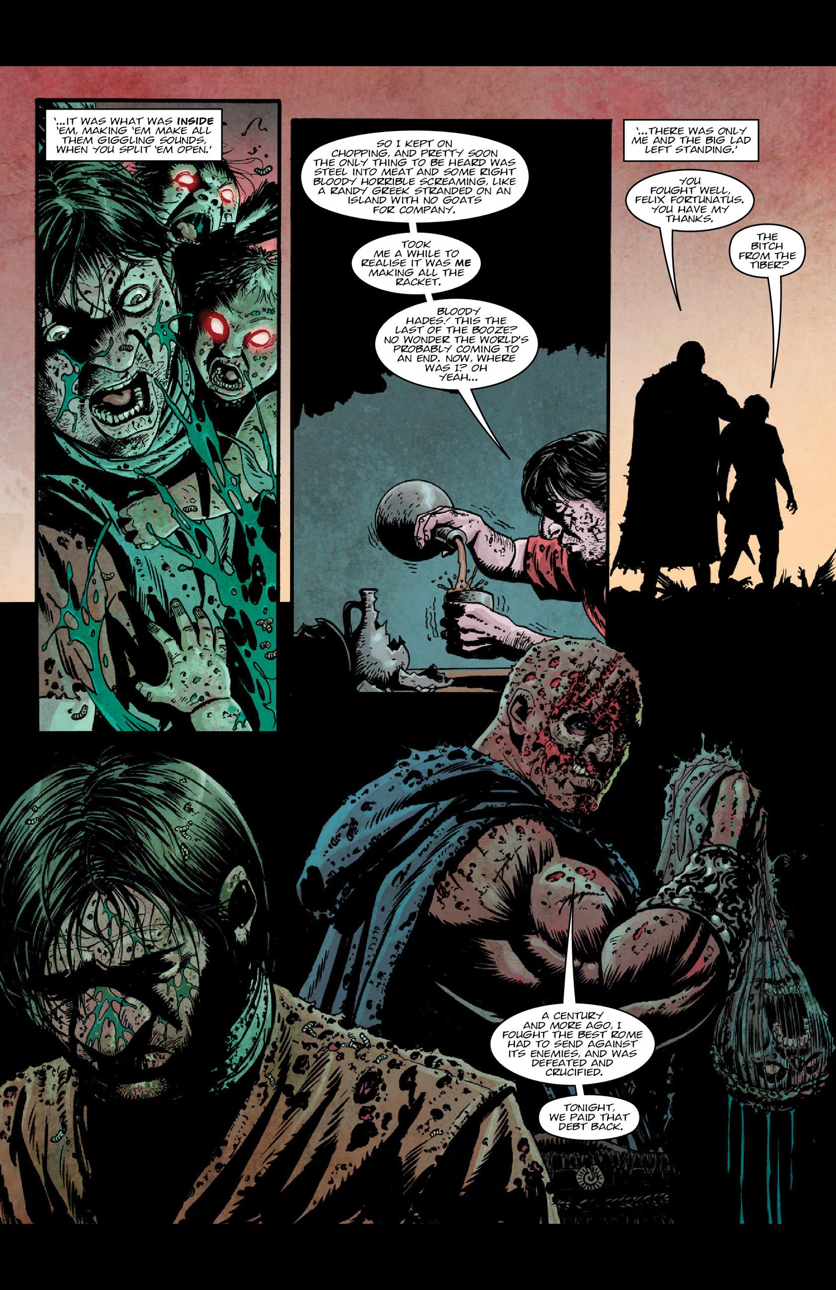 Read online Aquila comic -  Issue #5 - 20