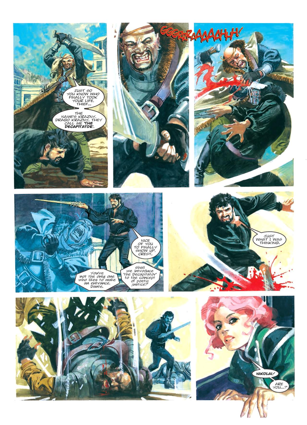 Read online Nikolai Dante comic -  Issue # TPB 9 - 117