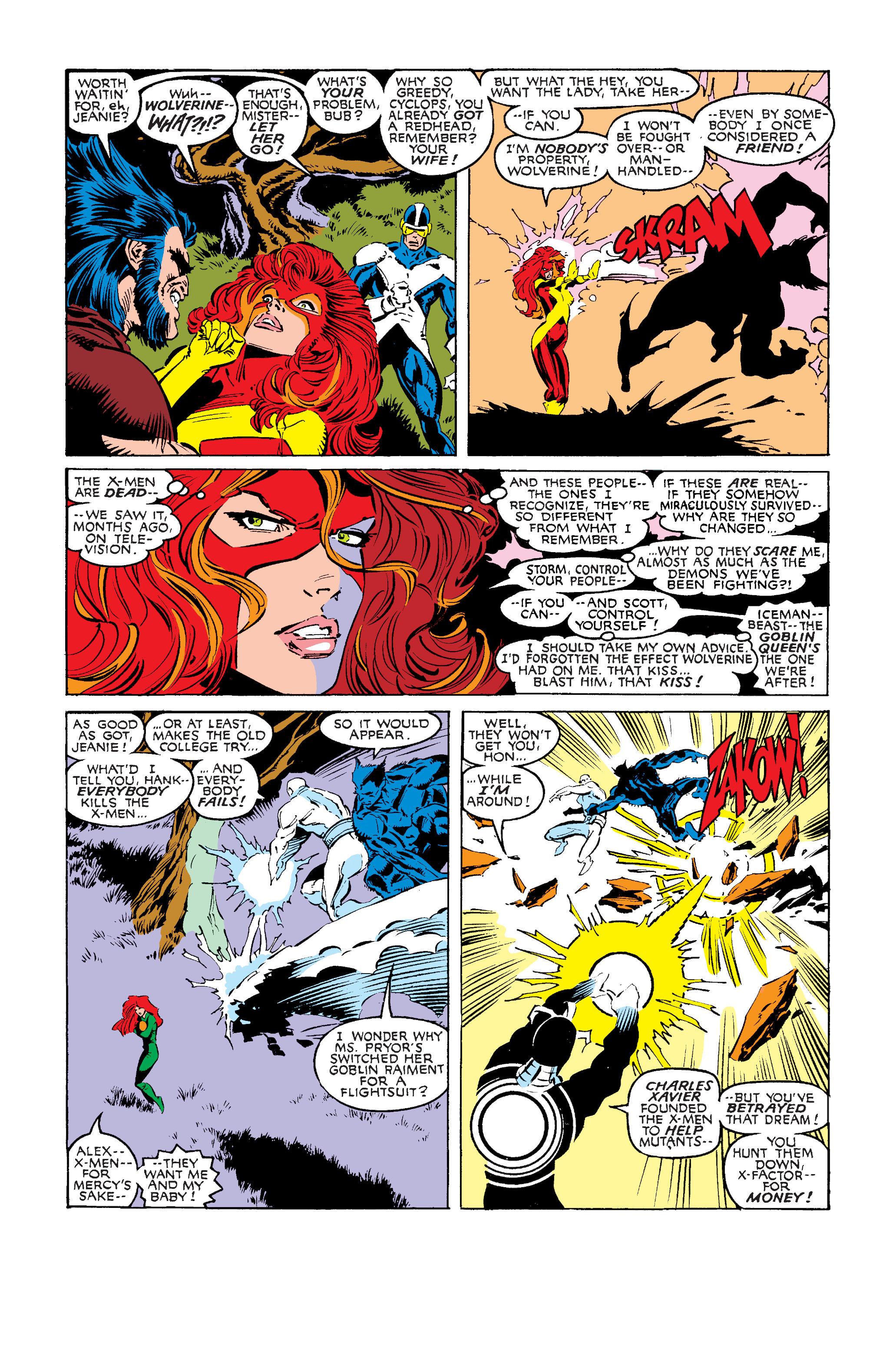 Read online Uncanny X-Men (1963) comic -  Issue #242 - 4