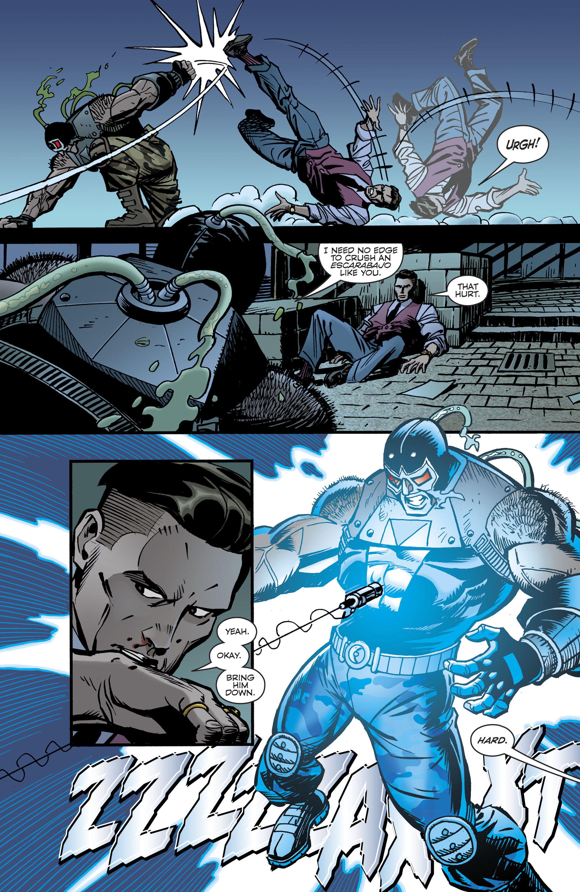 Read online Bane: Conquest comic -  Issue #2 - 5