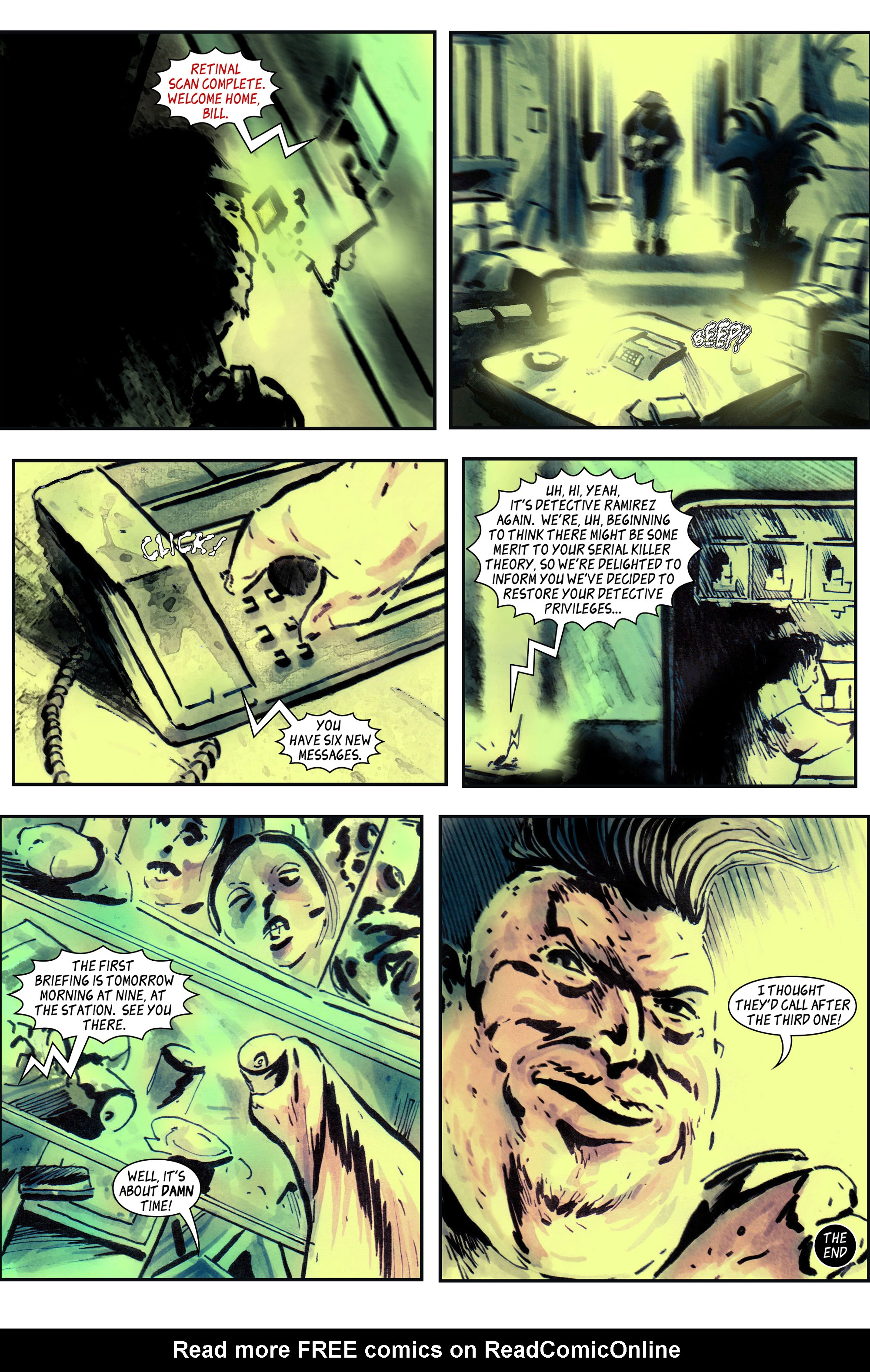 Read online 100% Biodegradable comic -  Issue #14 - 24