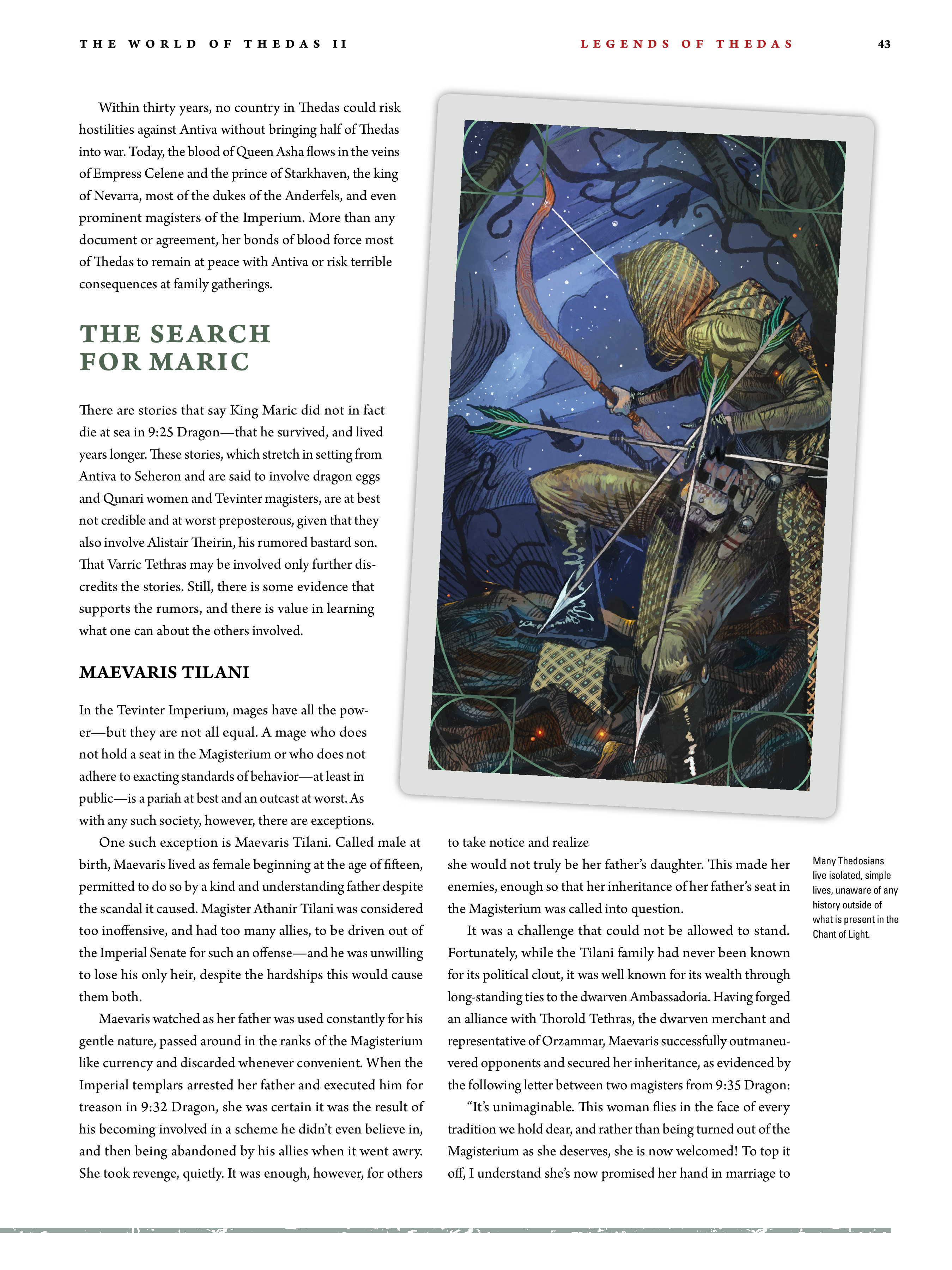 Read online Dragon Age: The World of Thedas comic -  Issue # TPB 2 - 40