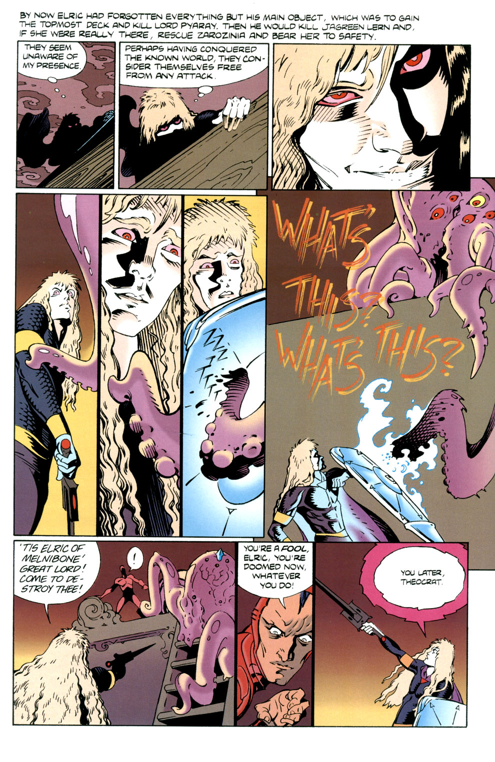 Read online Elric: Stormbringer comic -  Issue #5 - 24
