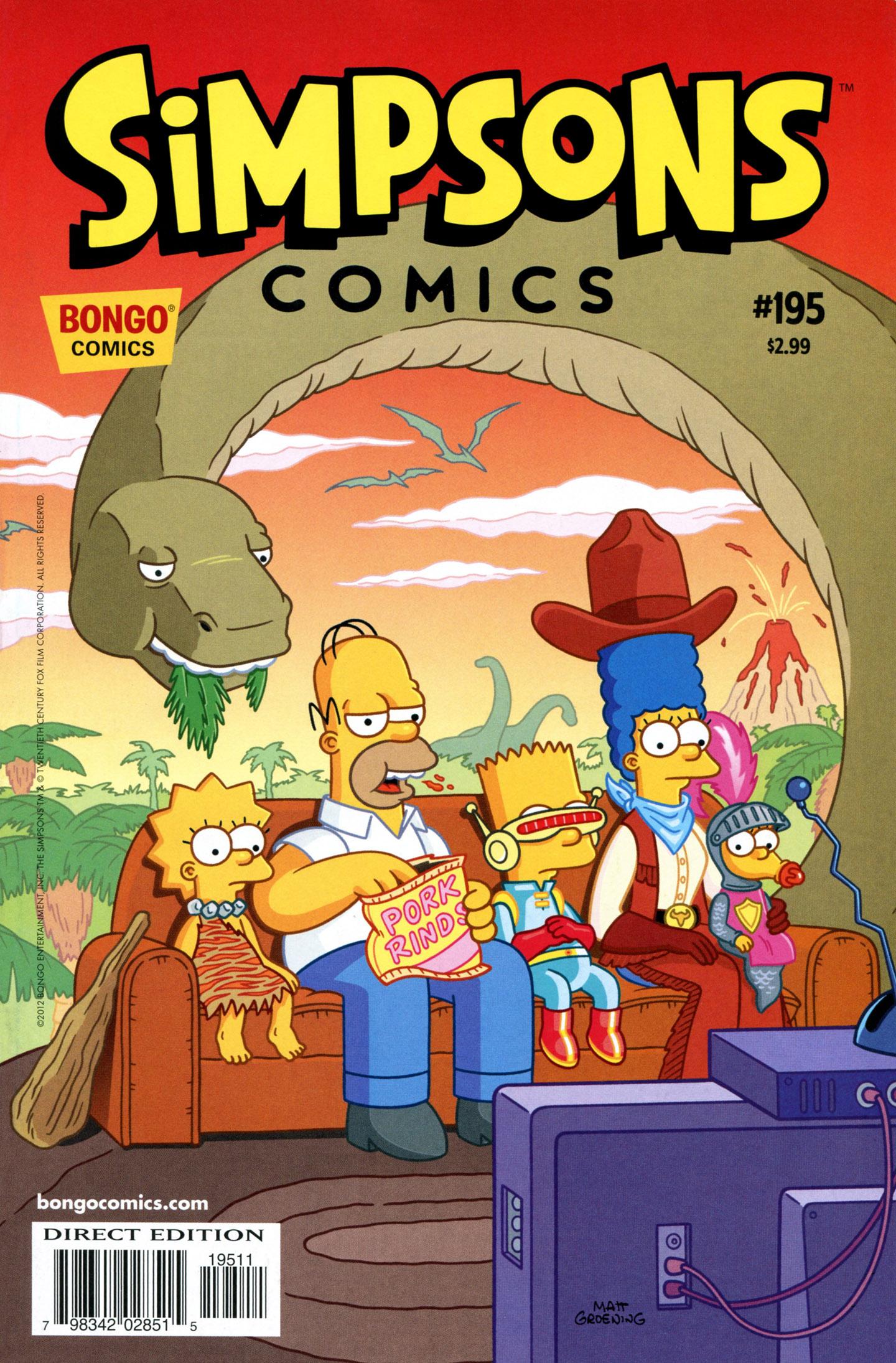 Read online Simpsons Comics comic -  Issue #195 - 1