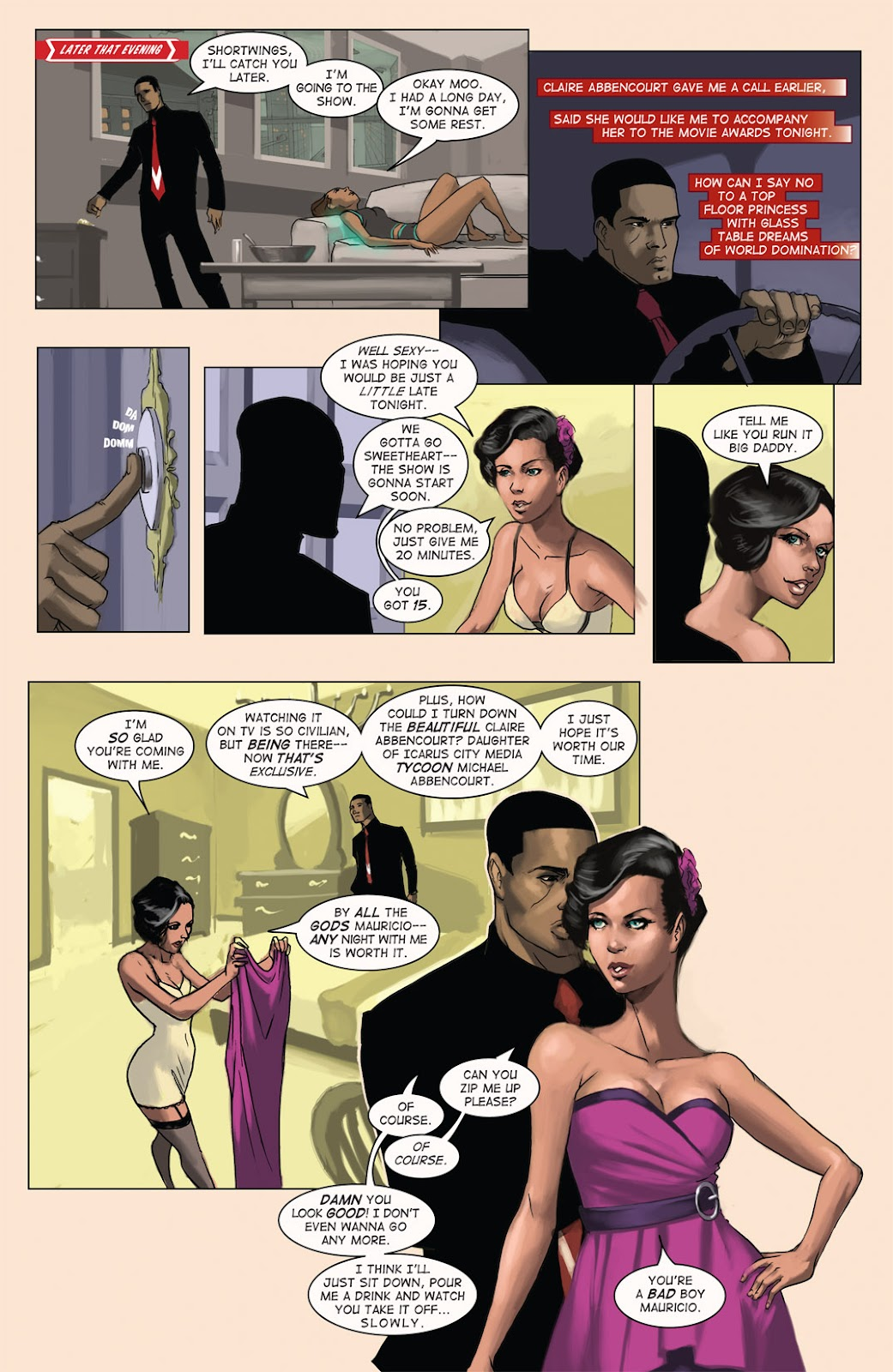 Read online Vescell comic -  Issue #4 - 15