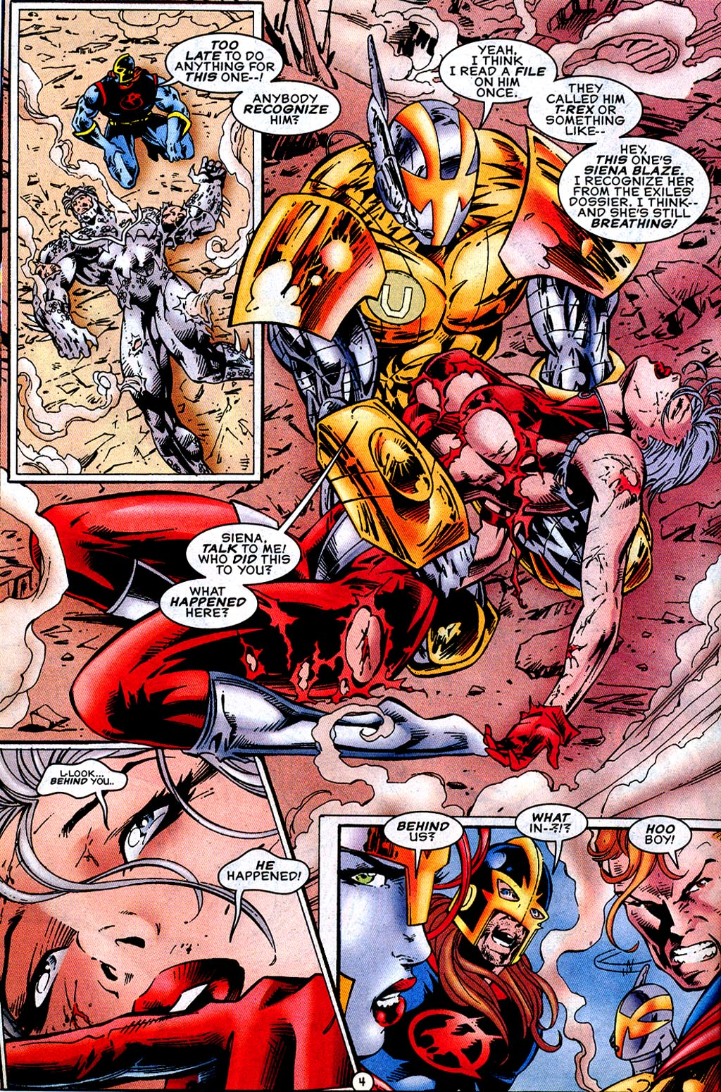 Read online UltraForce (1995) comic -  Issue #12 - 6