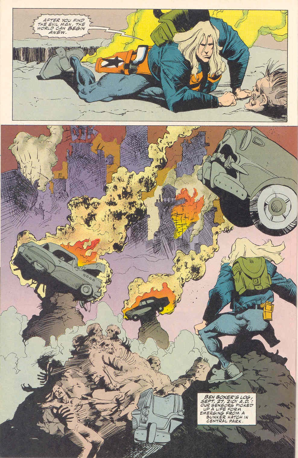 Read online Kamandi: At Earth's End comic -  Issue #1 - 17