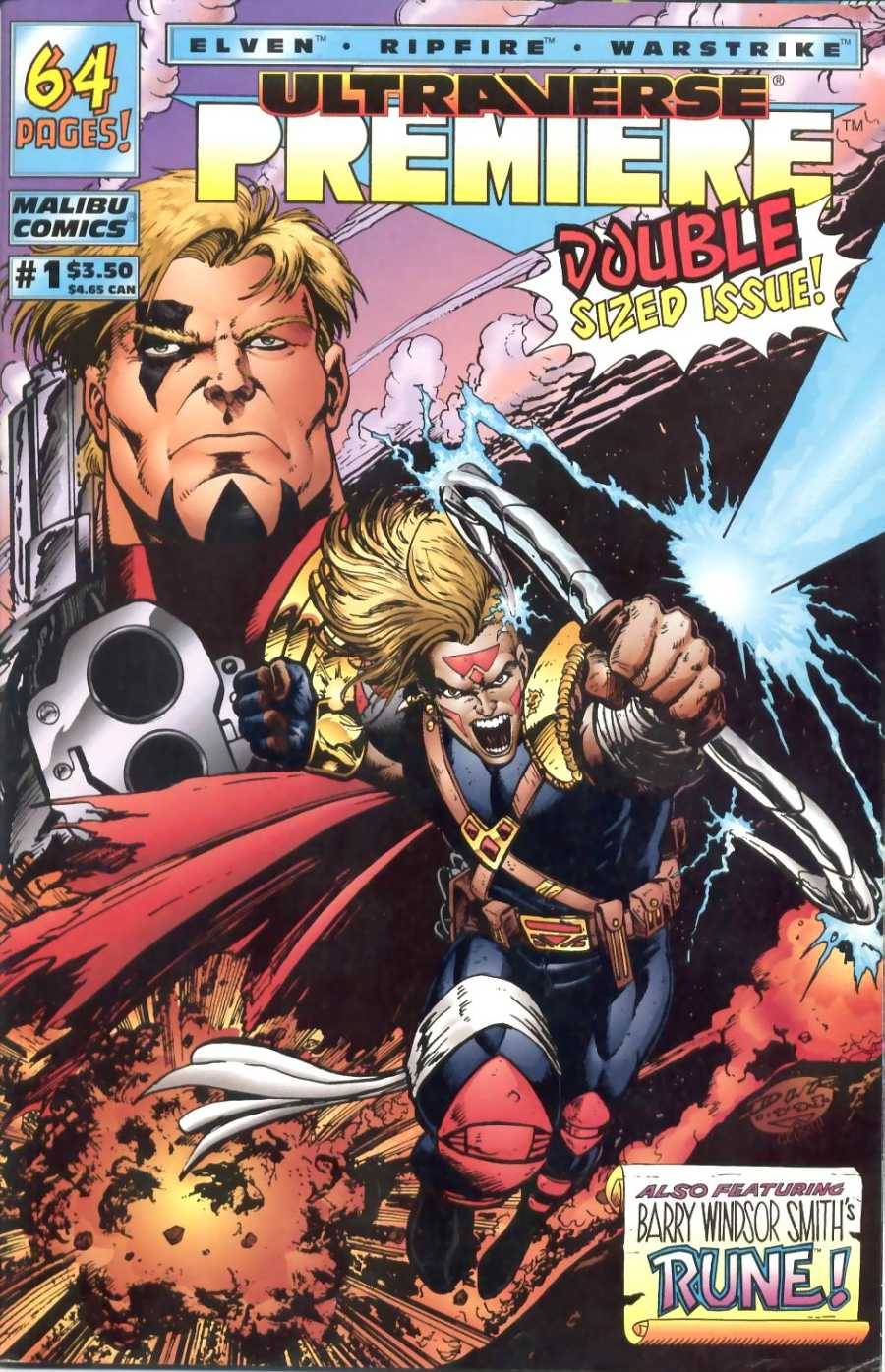 Read online Ultraverse Premiere comic -  Issue #1 - 1