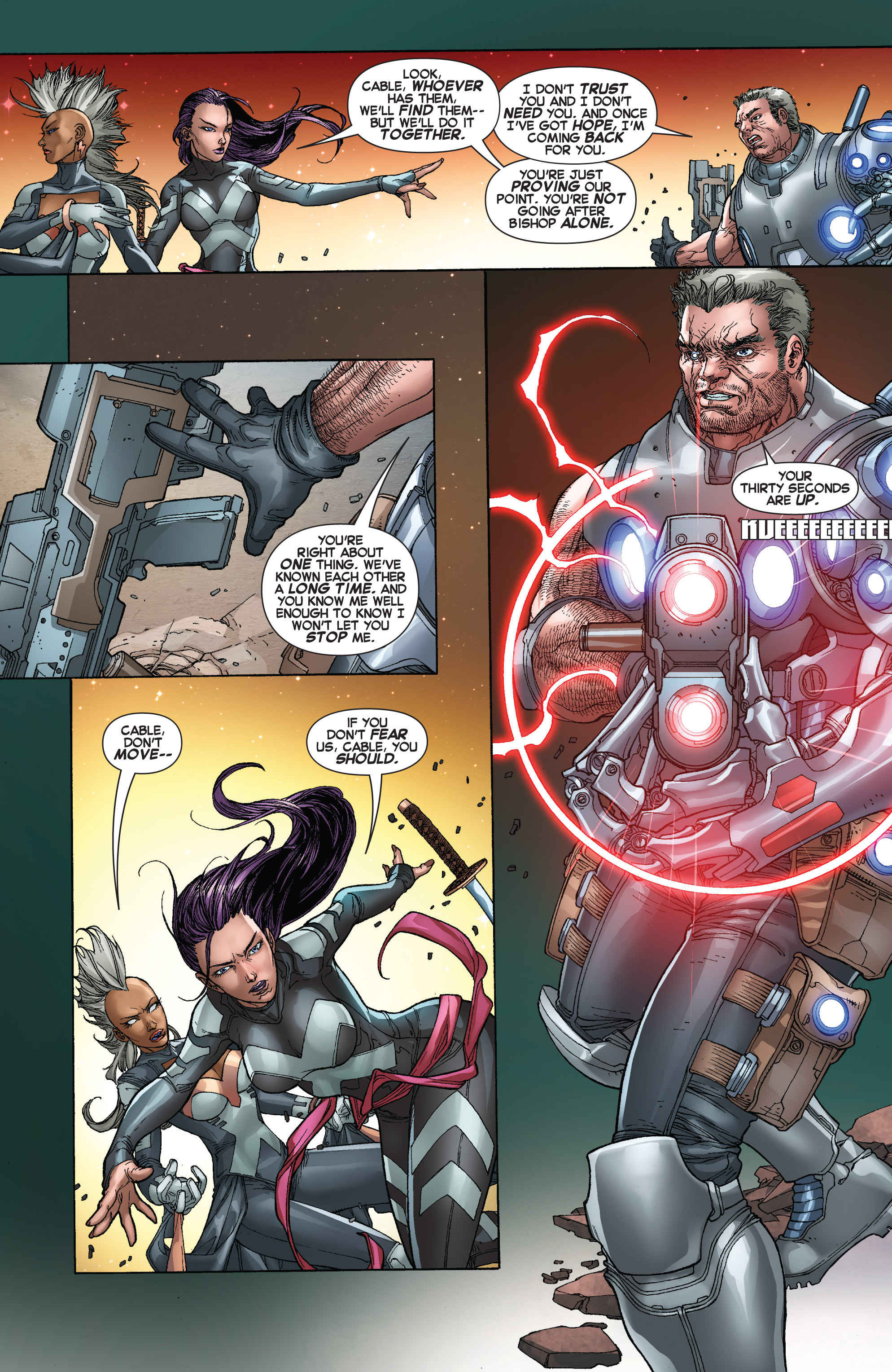 Read online Uncanny X-Force (2013) comic -  Issue #16 - 5
