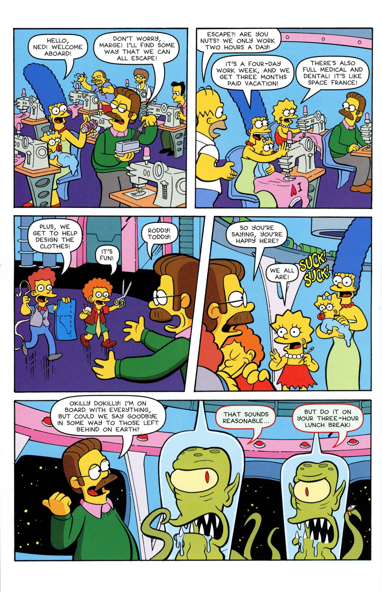 Read online Treehouse of Horror comic -  Issue #21 - 30